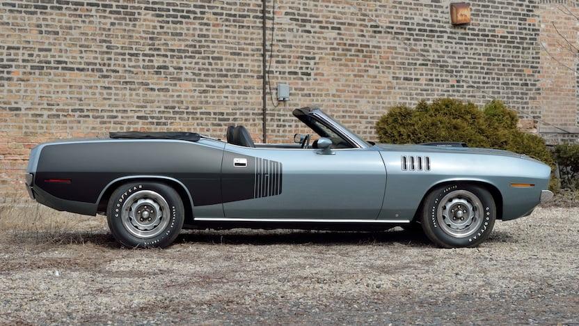 1971 Plymouth Hemi Cuda Convertible profile