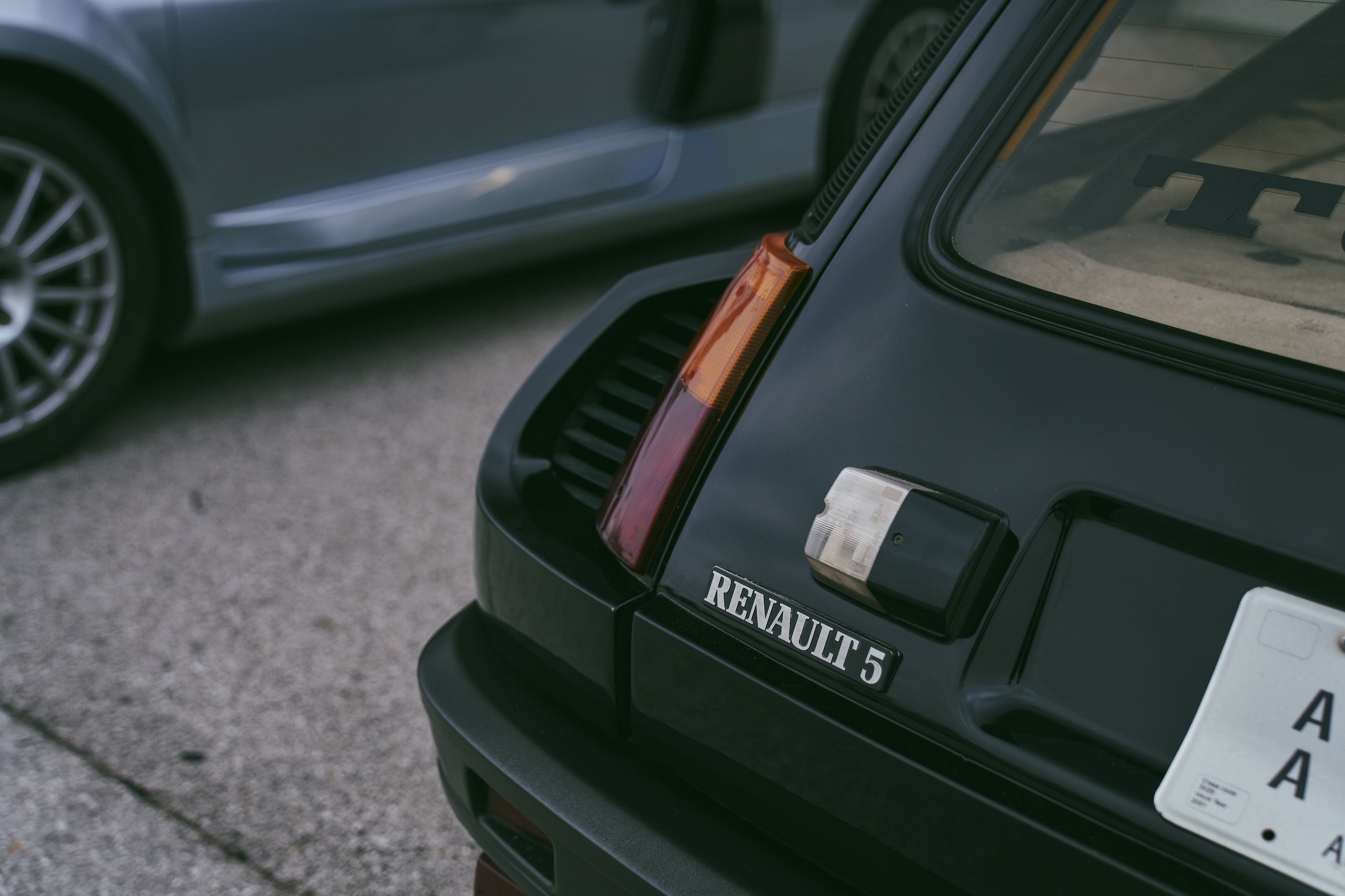 1985 Renault R5 Turbo 2 rear badge