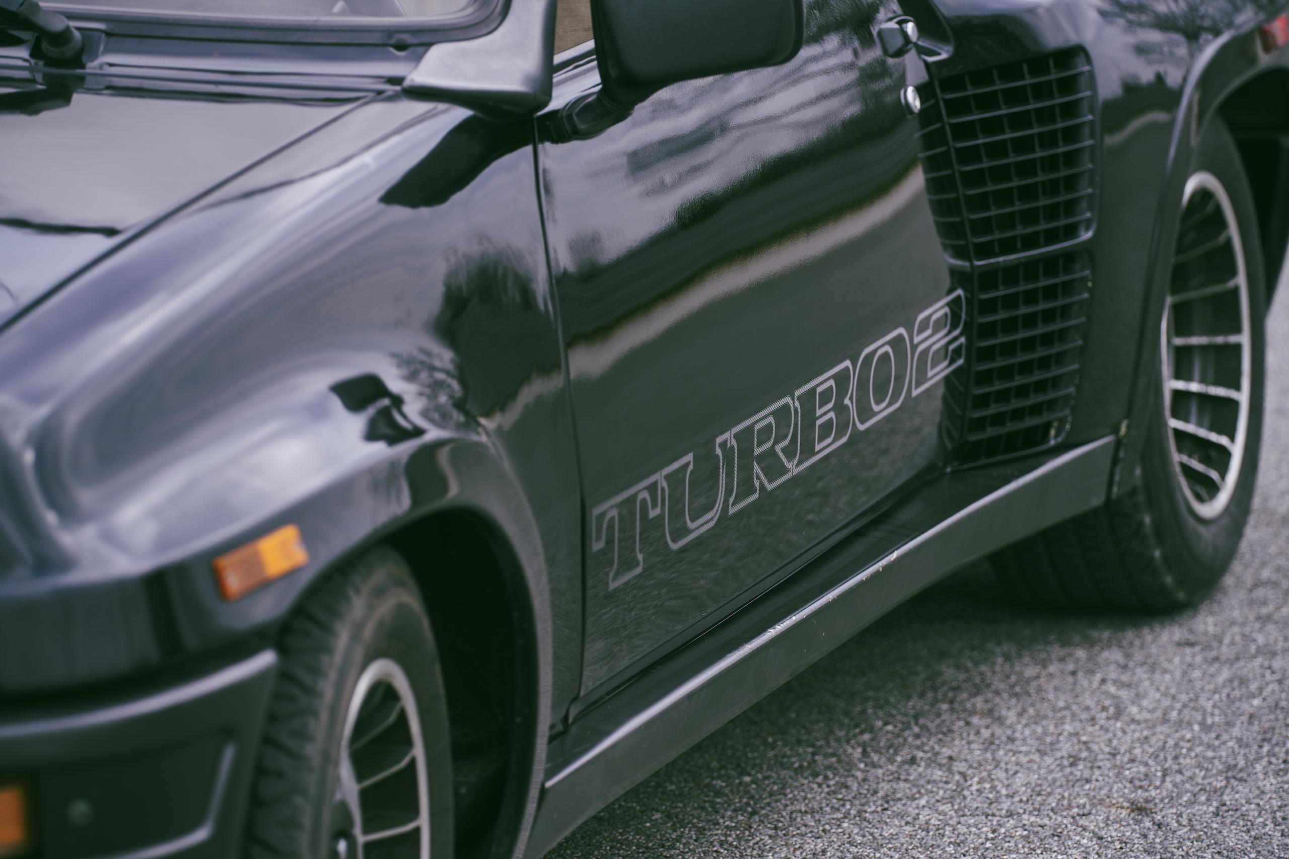 1985 Renault R5 Turbo 2 side detail