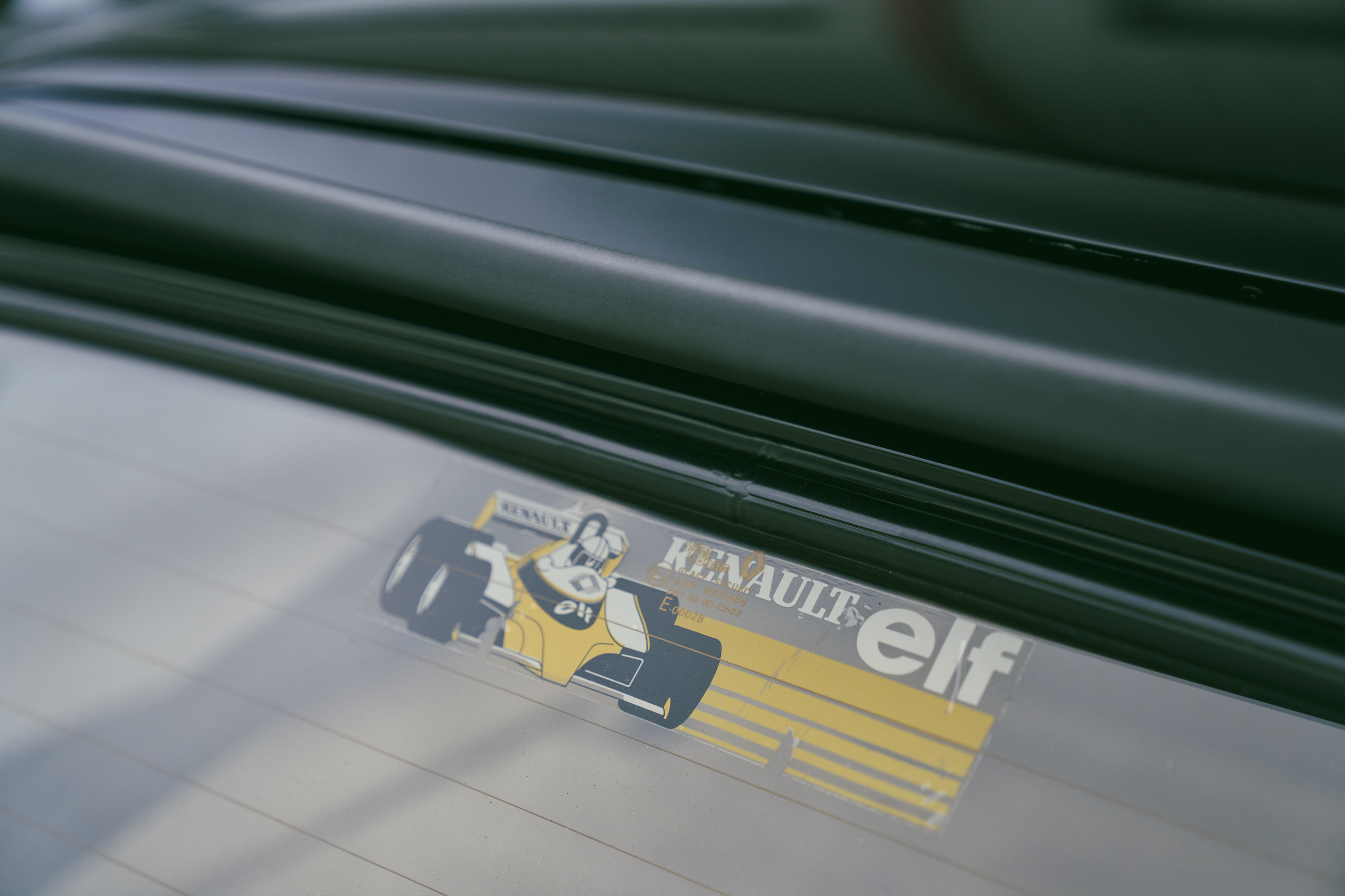 1985 Renault R5 Turbo 2 decal detail