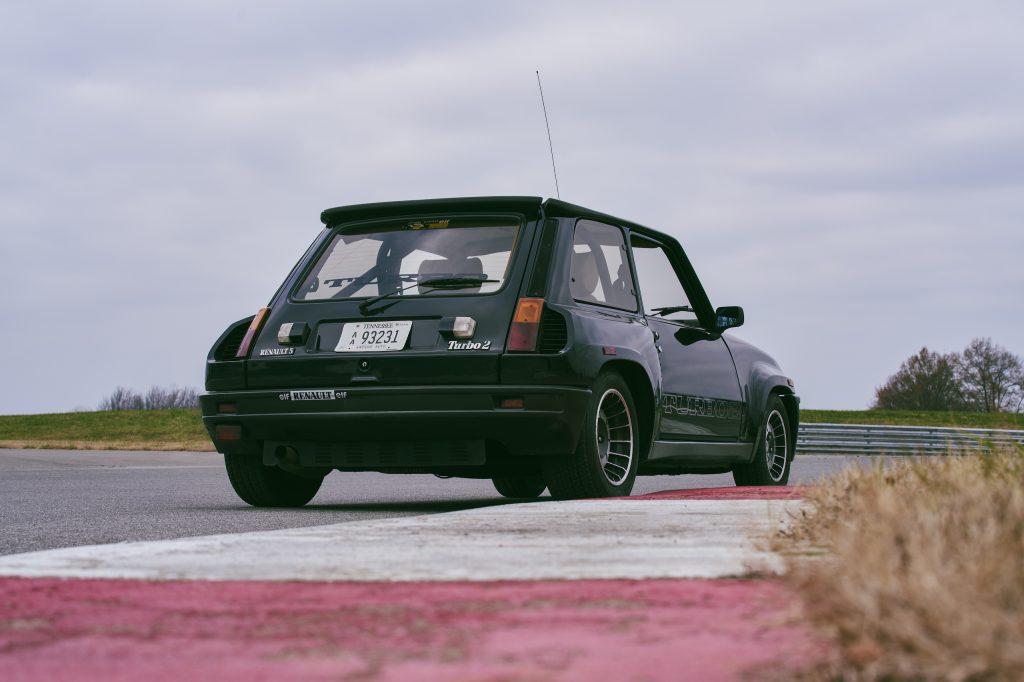 1985 Renault R5 Turbo 2 rear three-quarter