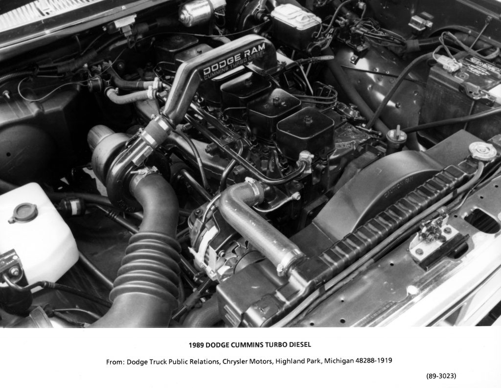 1989 Dodge Ram Cummins TurboDiesel truck