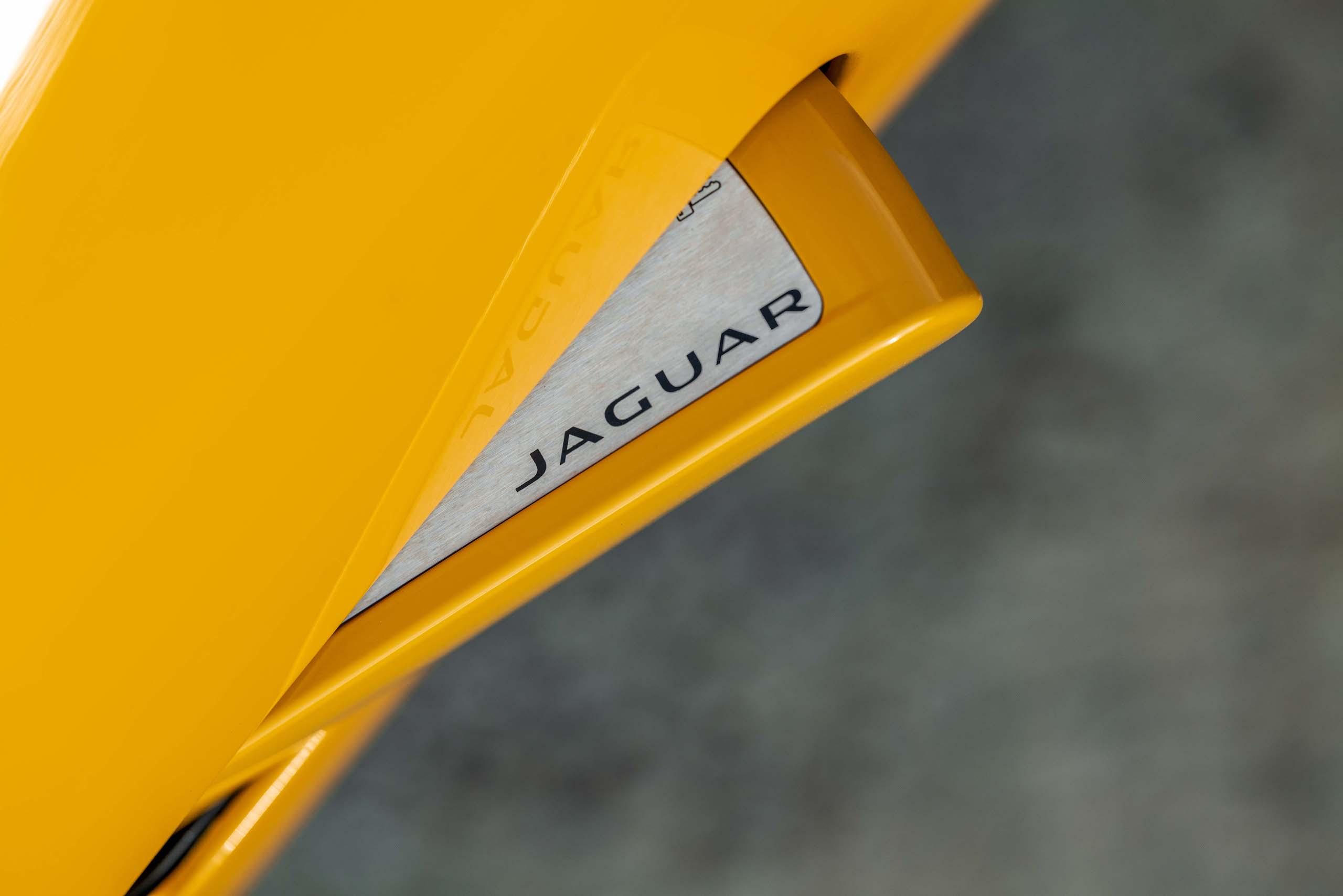 2021 Jaguar F-TYPE_R Coupe door handle detail