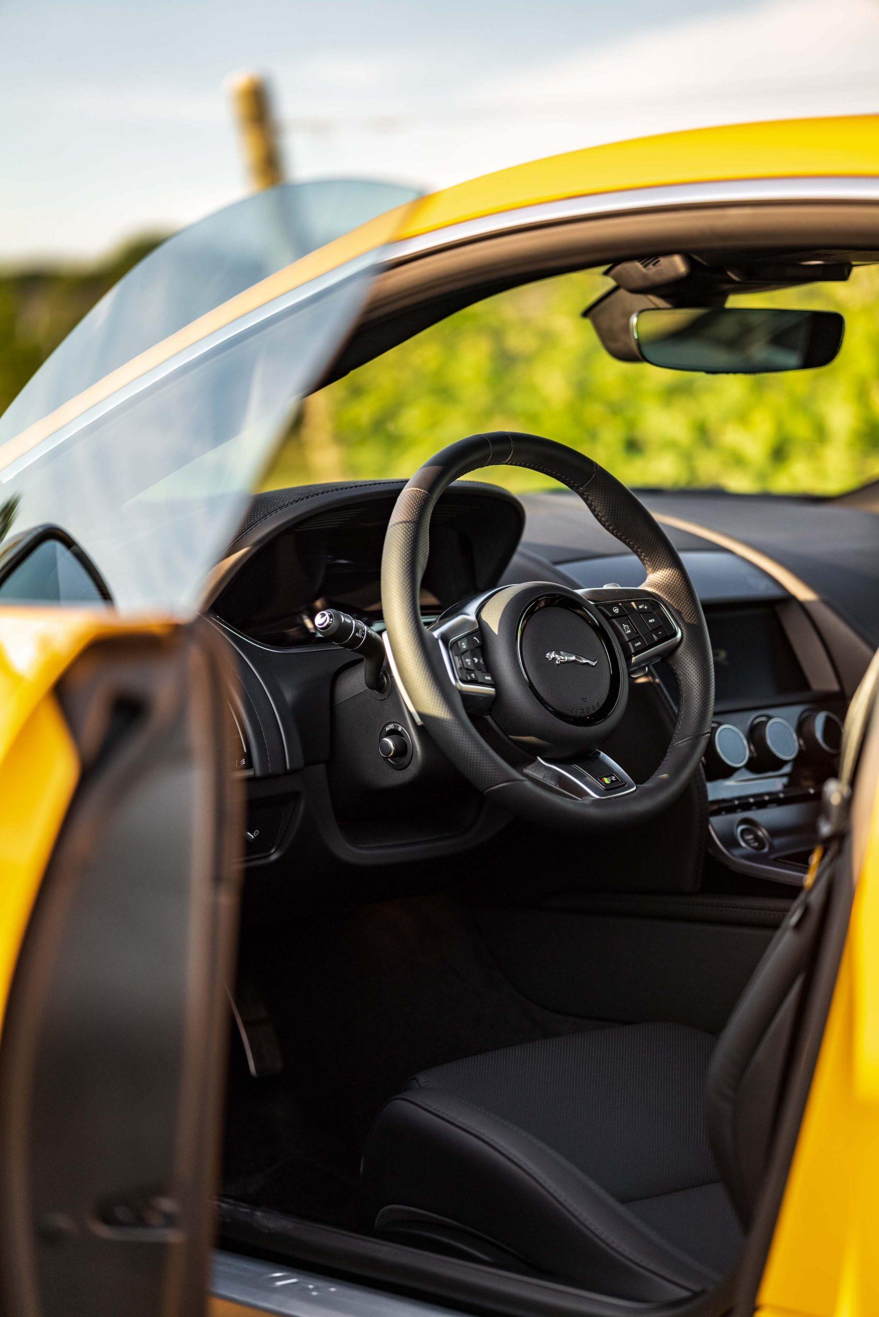2021 Jaguar F-TYPE_R Coupe interior door open