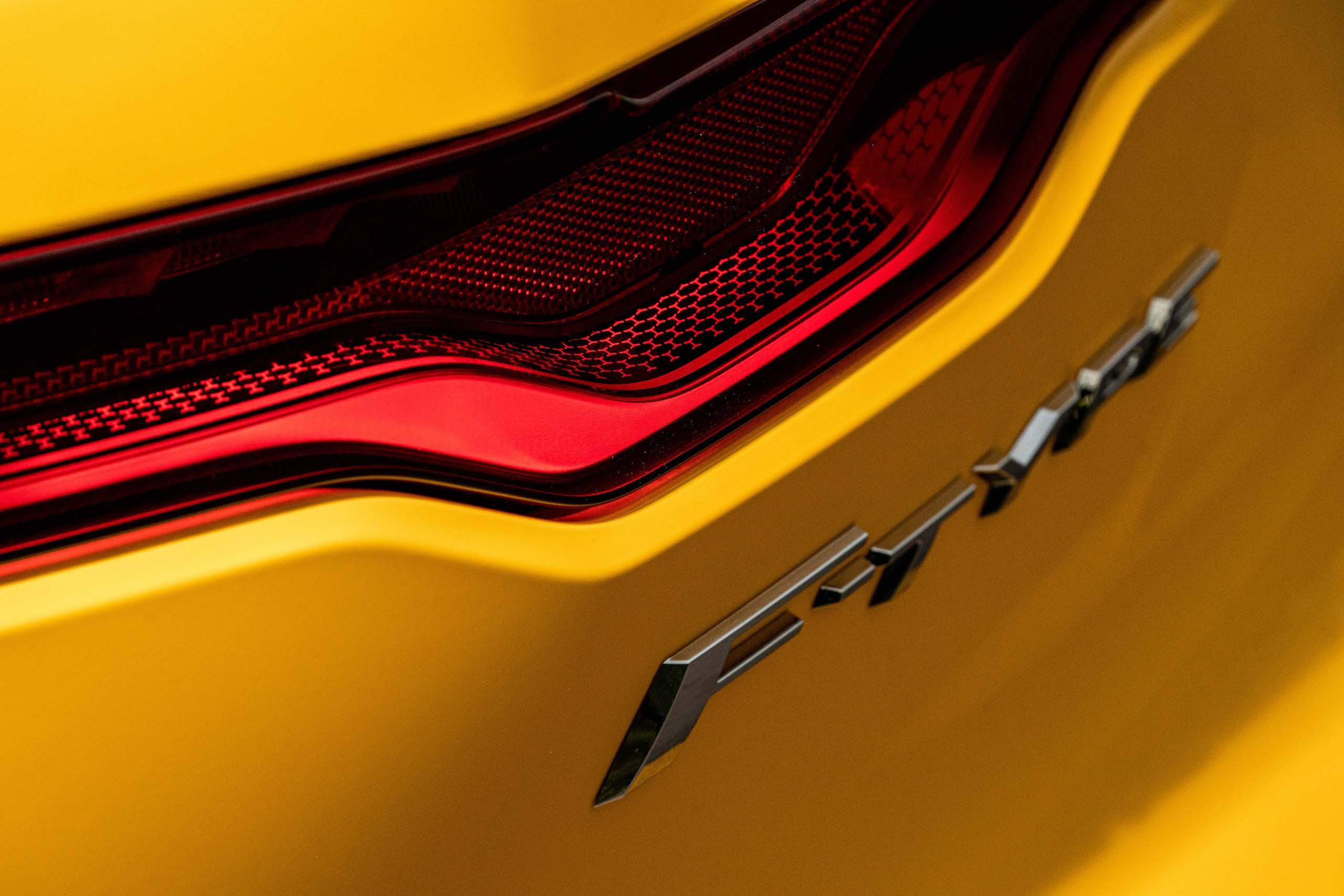 2021 Jaguar F-TYPE_R Coupe badge detail