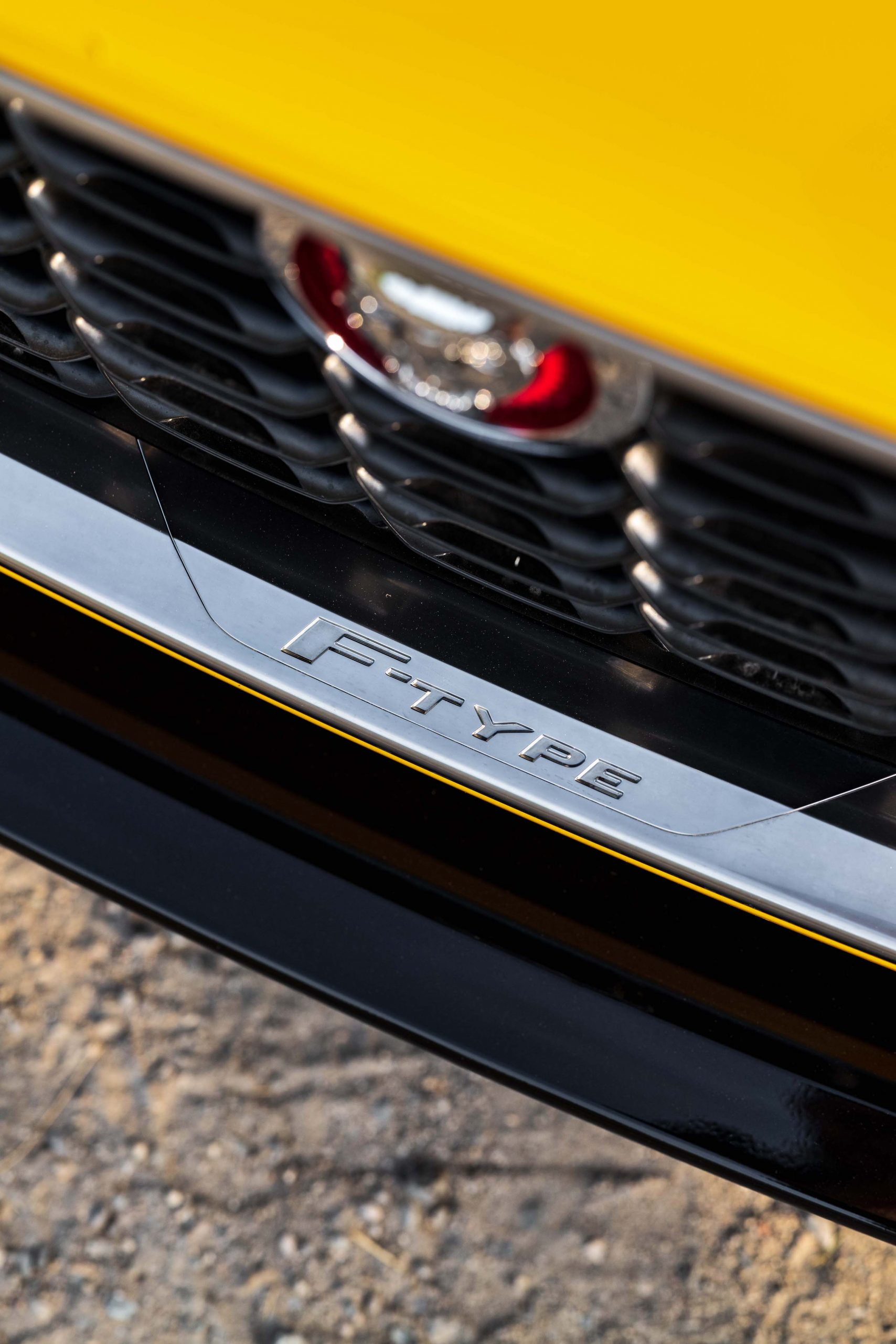 2021 Jaguar F-TYPE_R Coupe grille detail