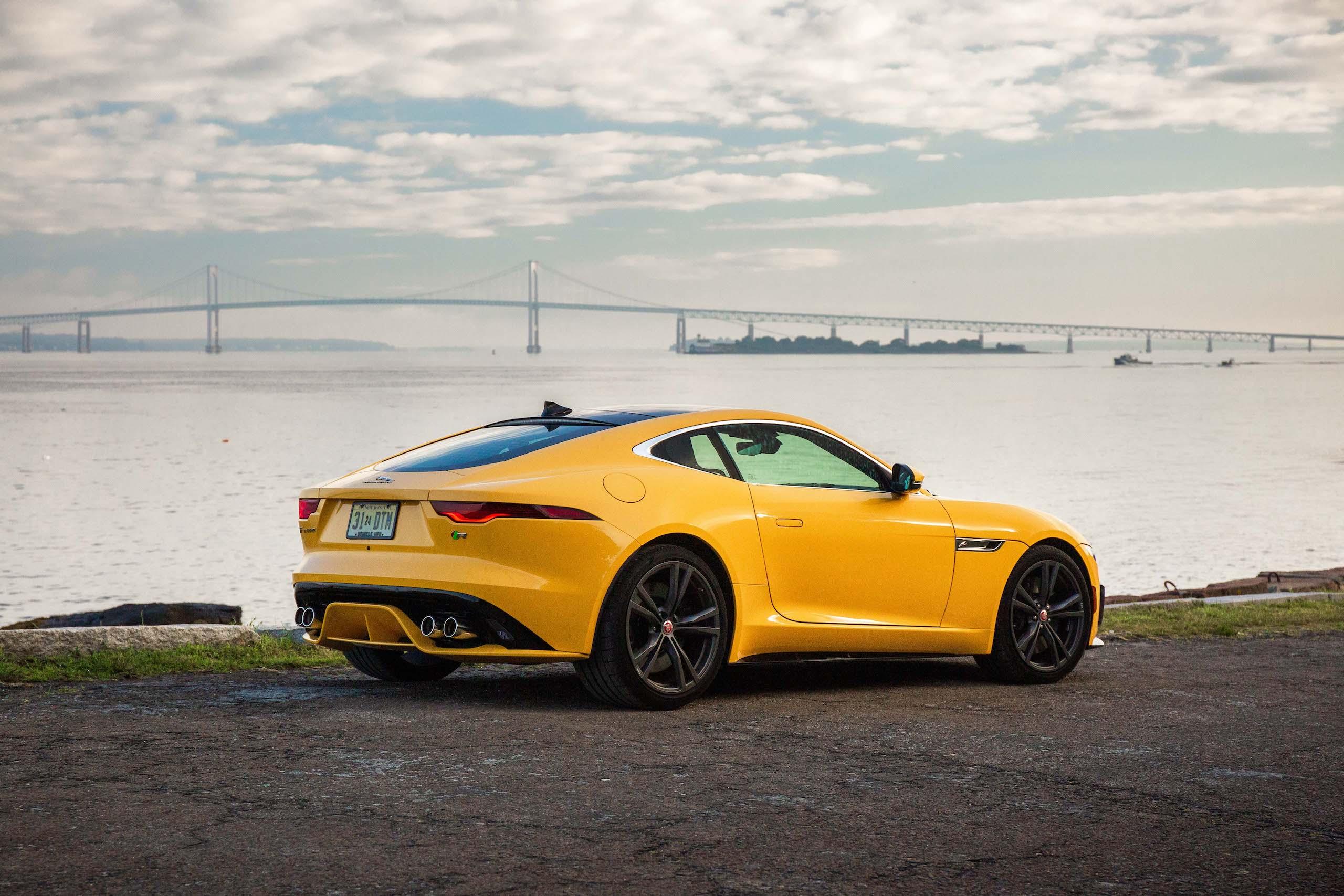 2021 Jaguar F-TYPE_R Coupe rear three-quarter