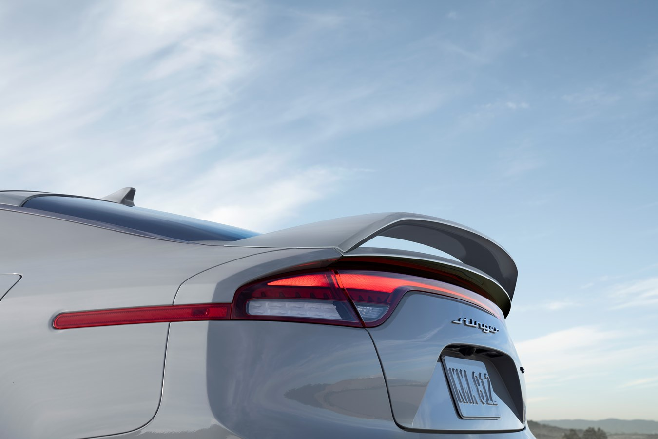 2022 Stinger Scorpion Special Edition rear wing
