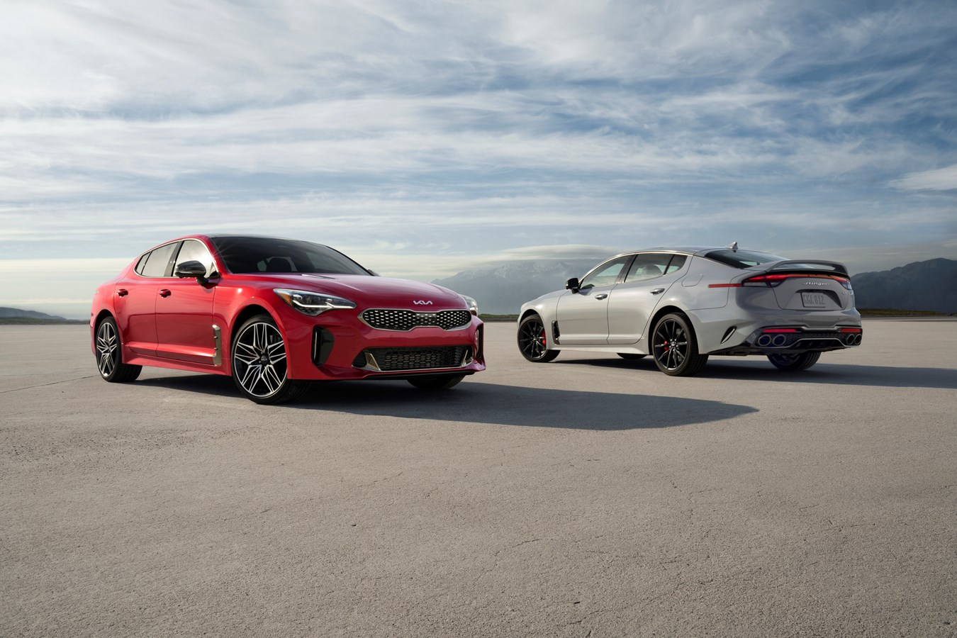 2022 Stinger GT and Scorpion Special Edition