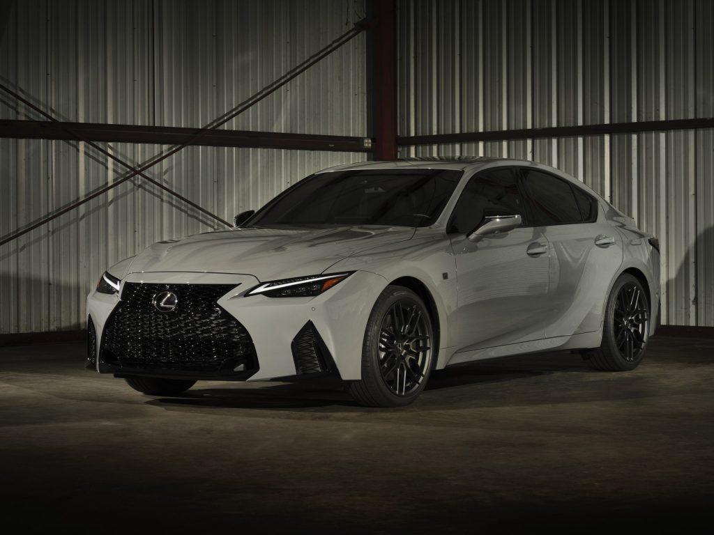 2022 Lexus IS 500 F Sport Launch Edition front three quarter