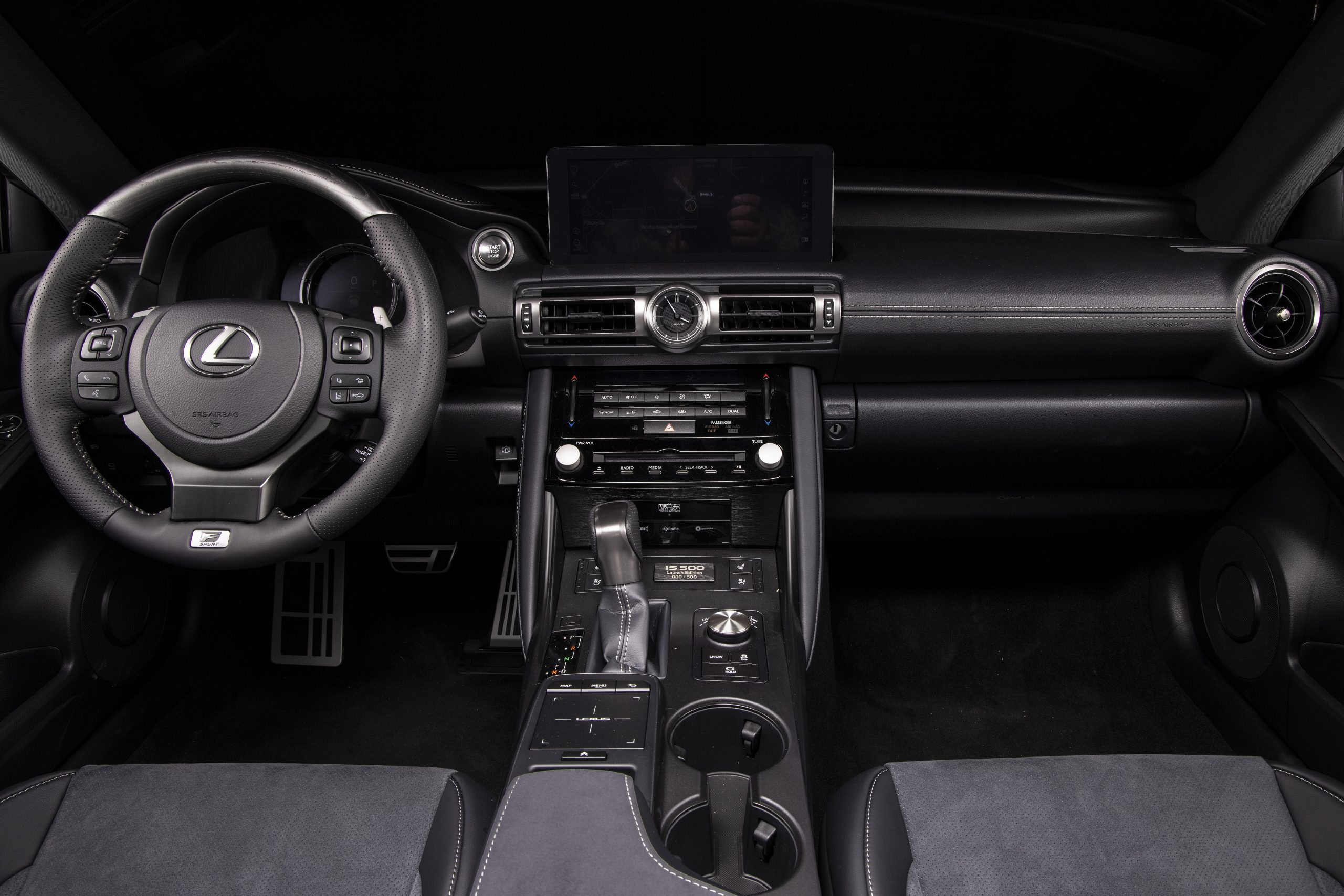 2022 Lexus IS 500 F Sport Launch Edition interior