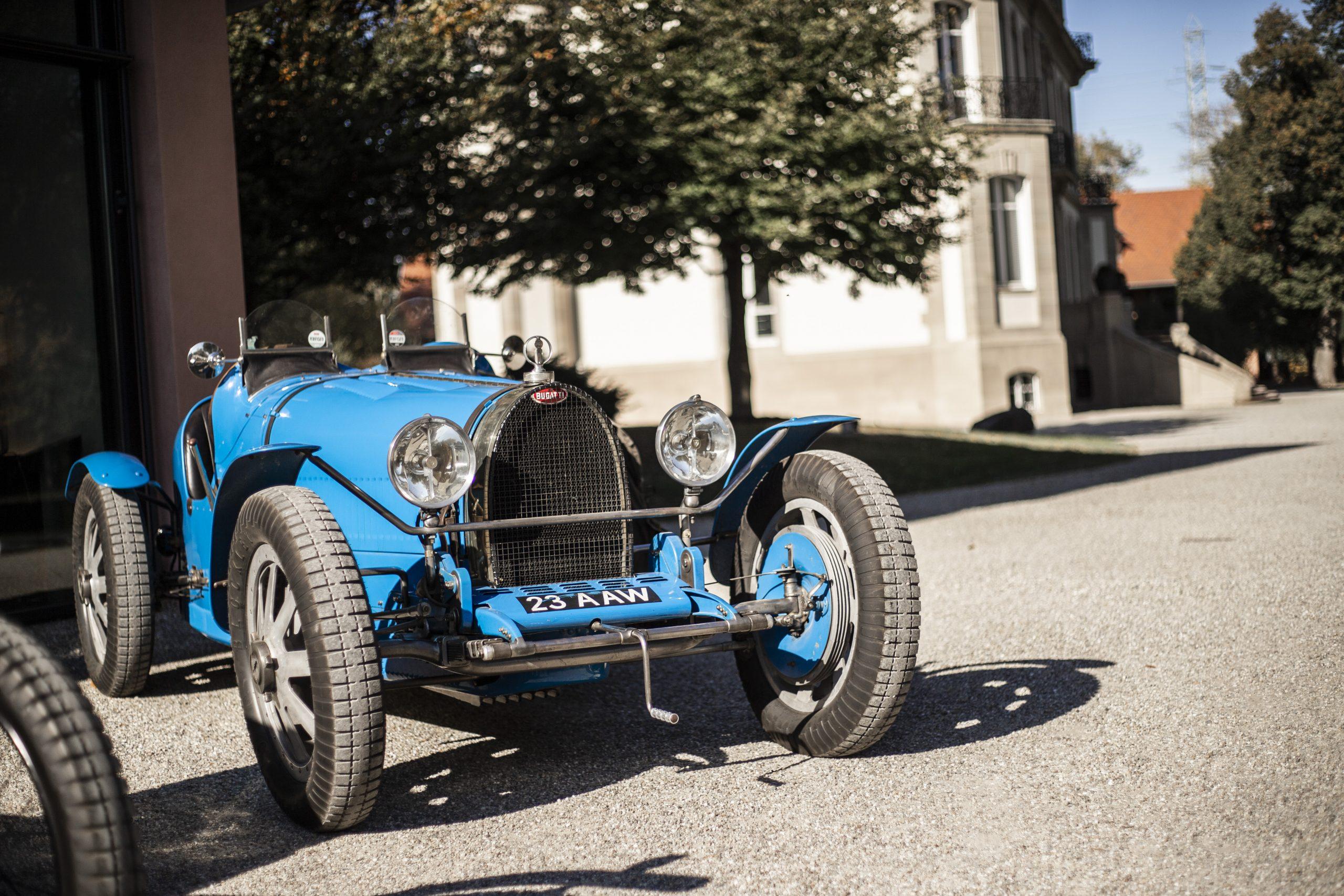 Bugatti Type 35 front three-quarter