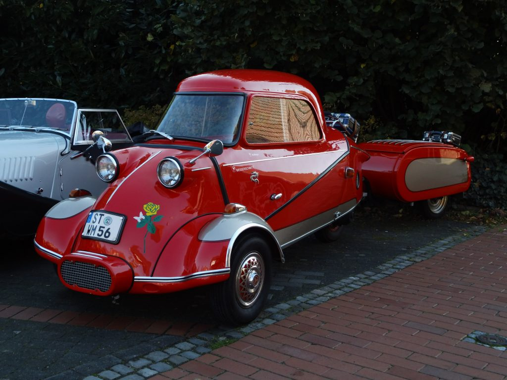 1956 Messerschmitt Kabinenroller Schale