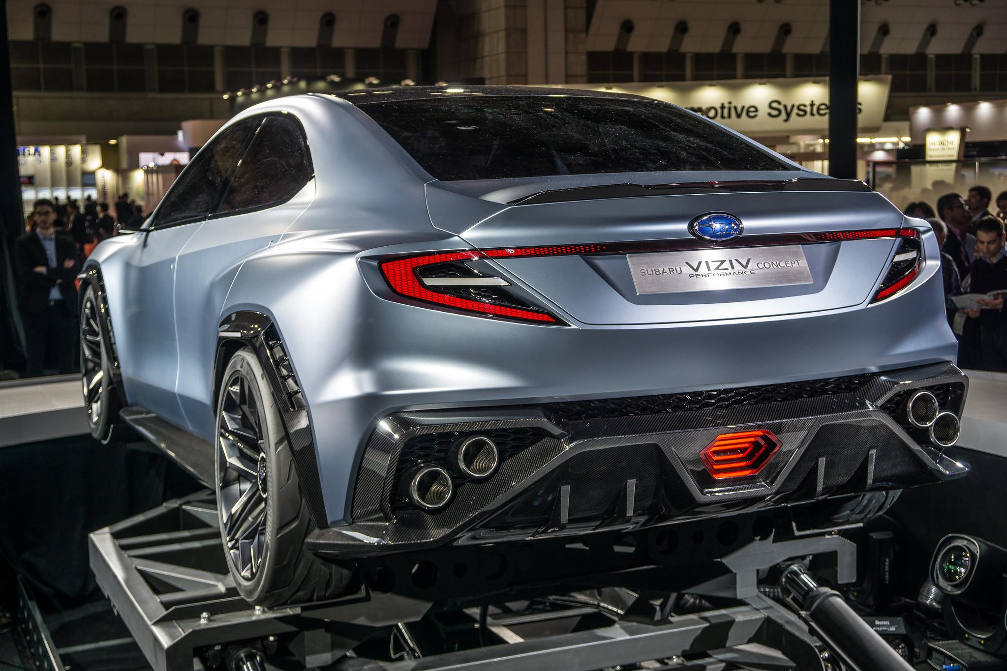 2017 subaru viziv performance concept tokyo auto salon