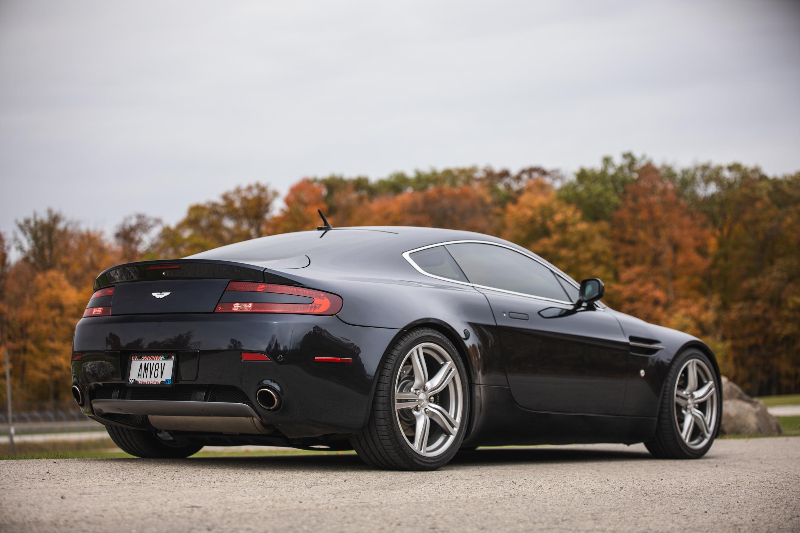2007 Aston Martin Vantage V8 rear three-quarter