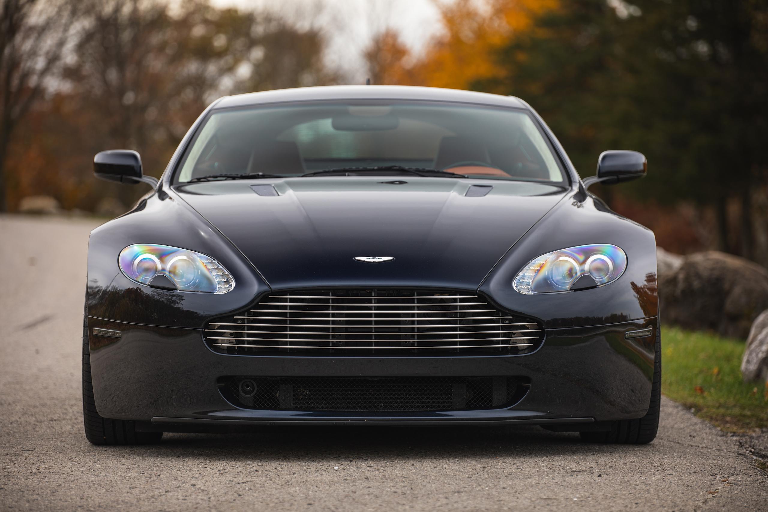 2007 Aston Martin Vantage V8 front
