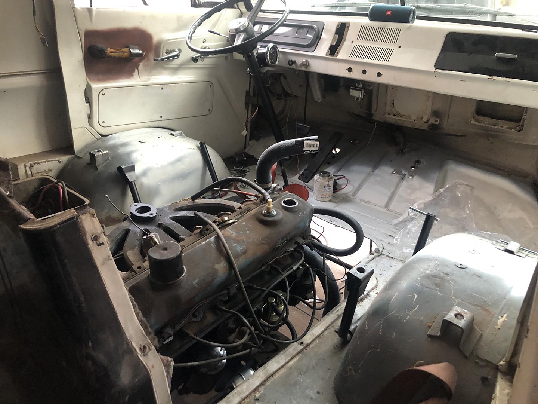 A100 Van engine
