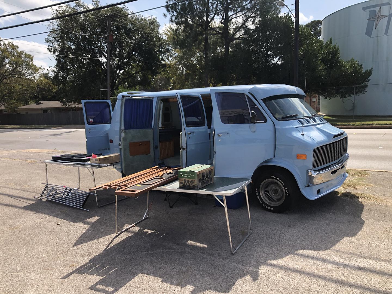 Rolling heavy van meetup