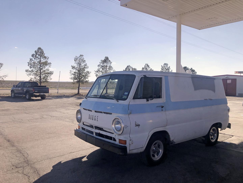 A100 Van front three-quarter