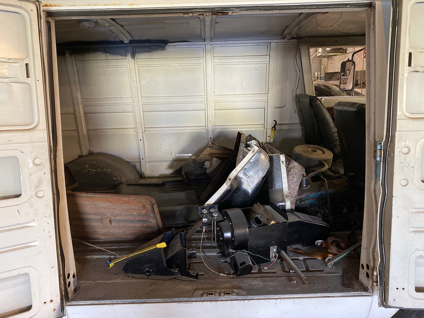 A100 Van interior parts