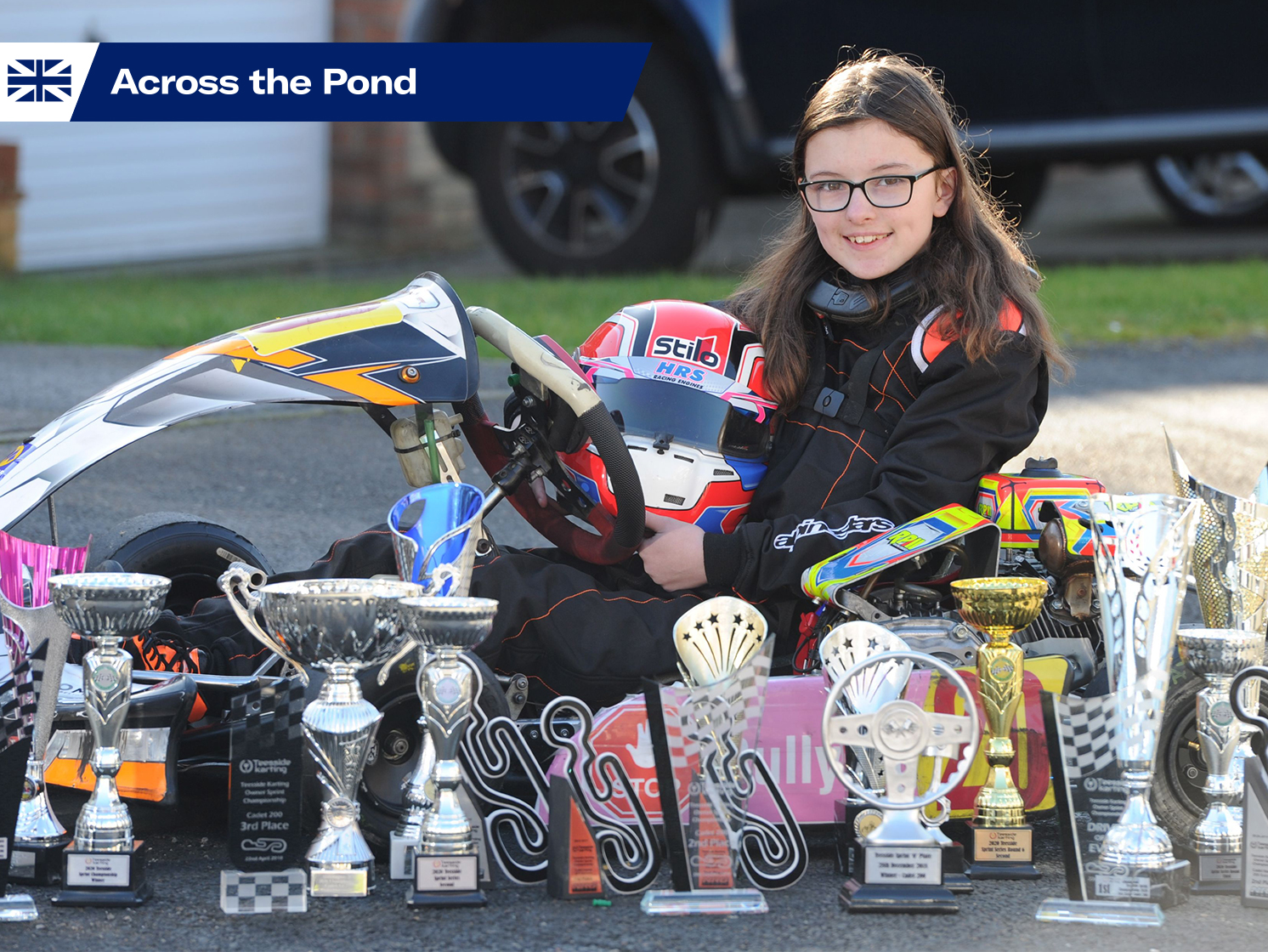 catherine potter kart racing across the pond lede