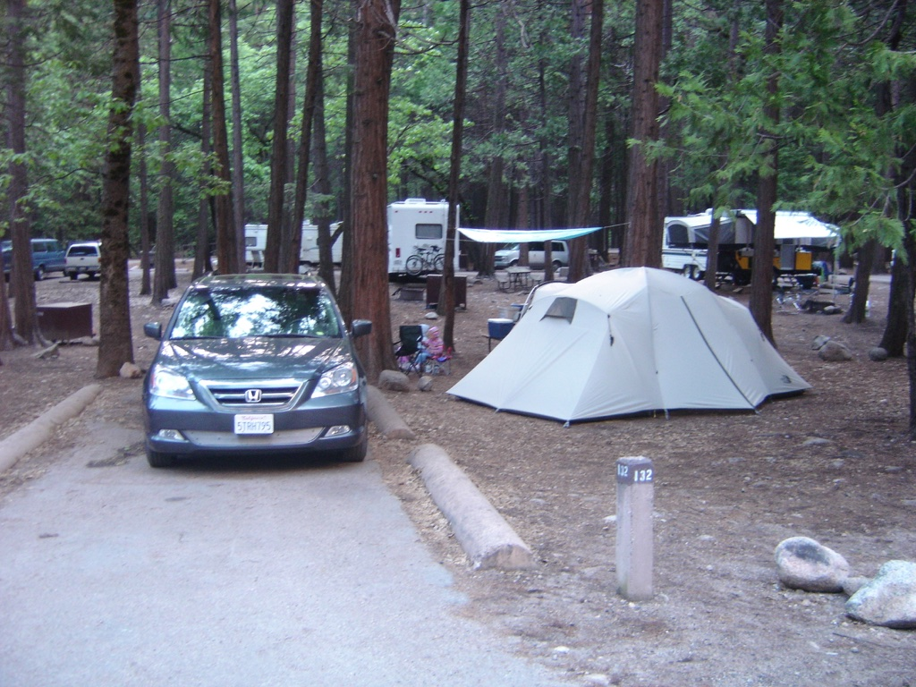honda odyssey yosemite camping