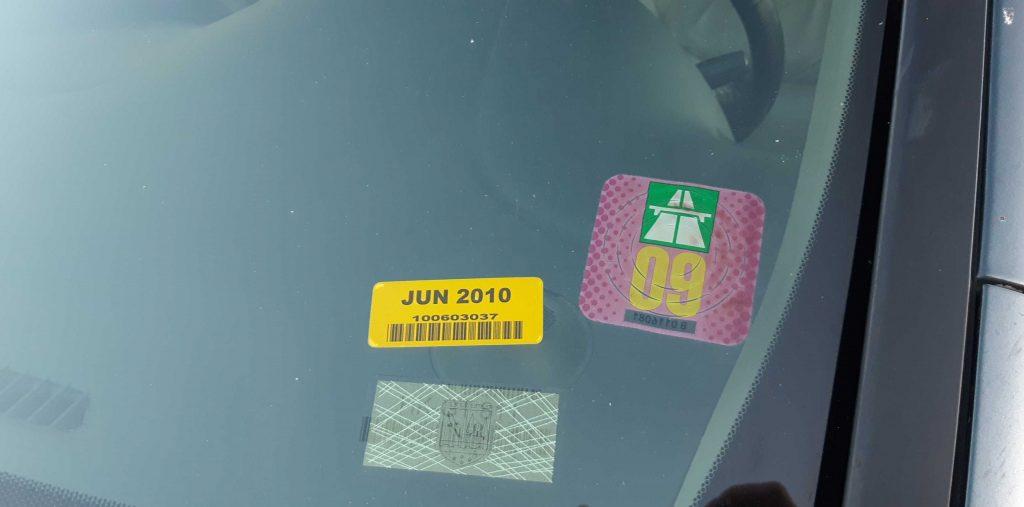 honda odyssey windshield stickers