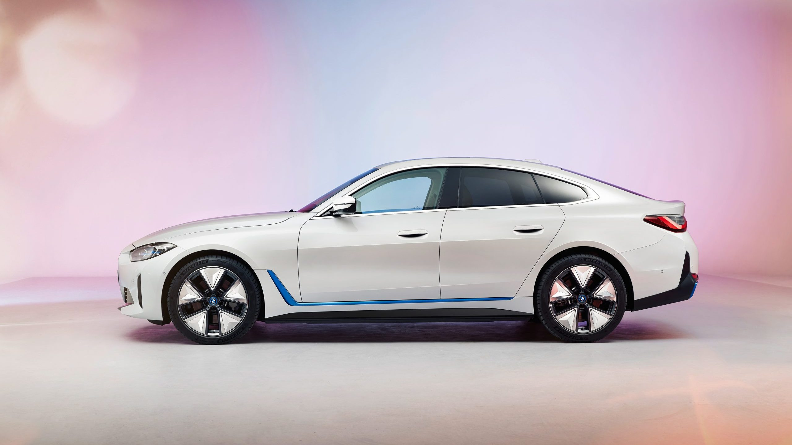 BMW i4 side profile