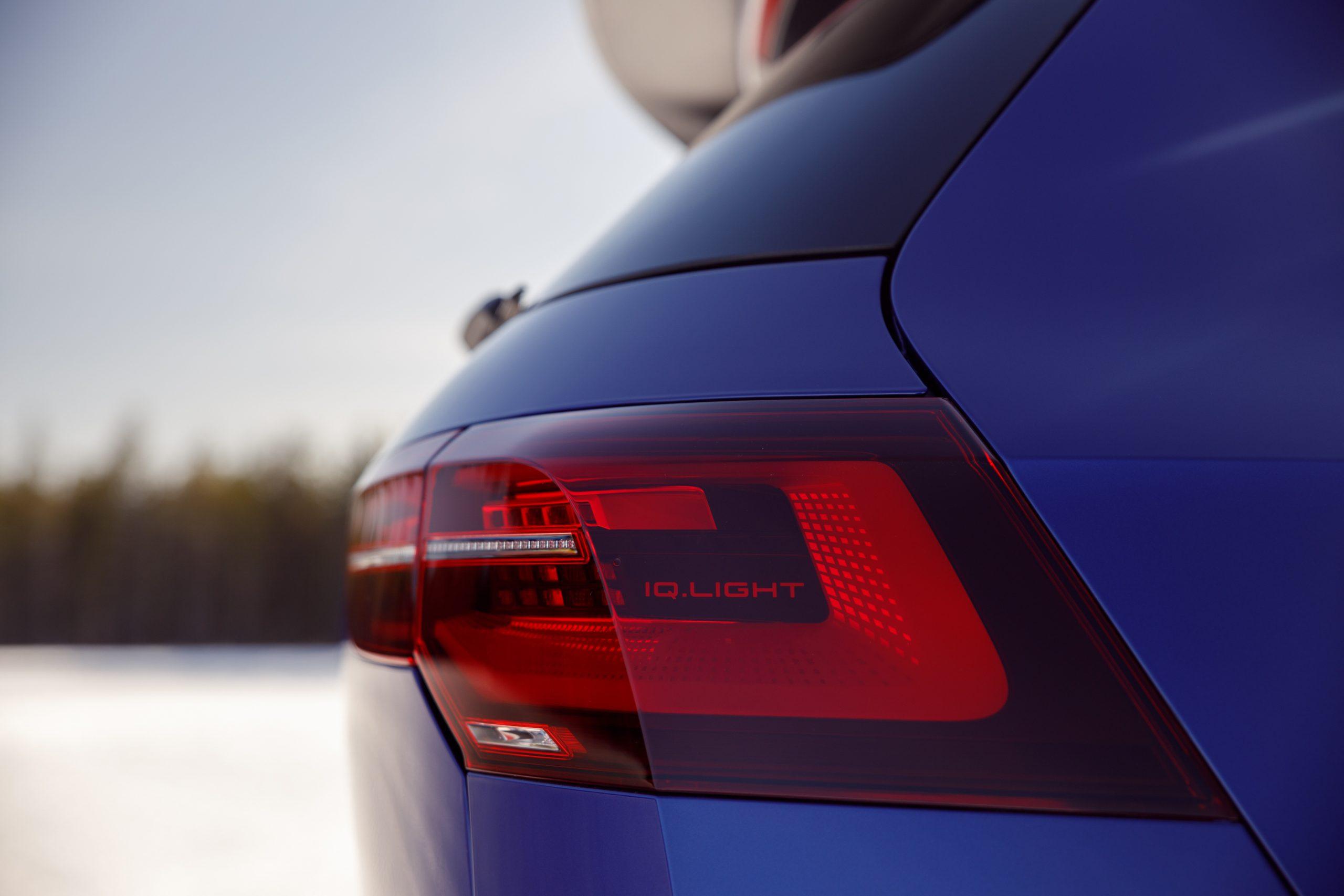 2022 Volkswagen Golf R taillight detail