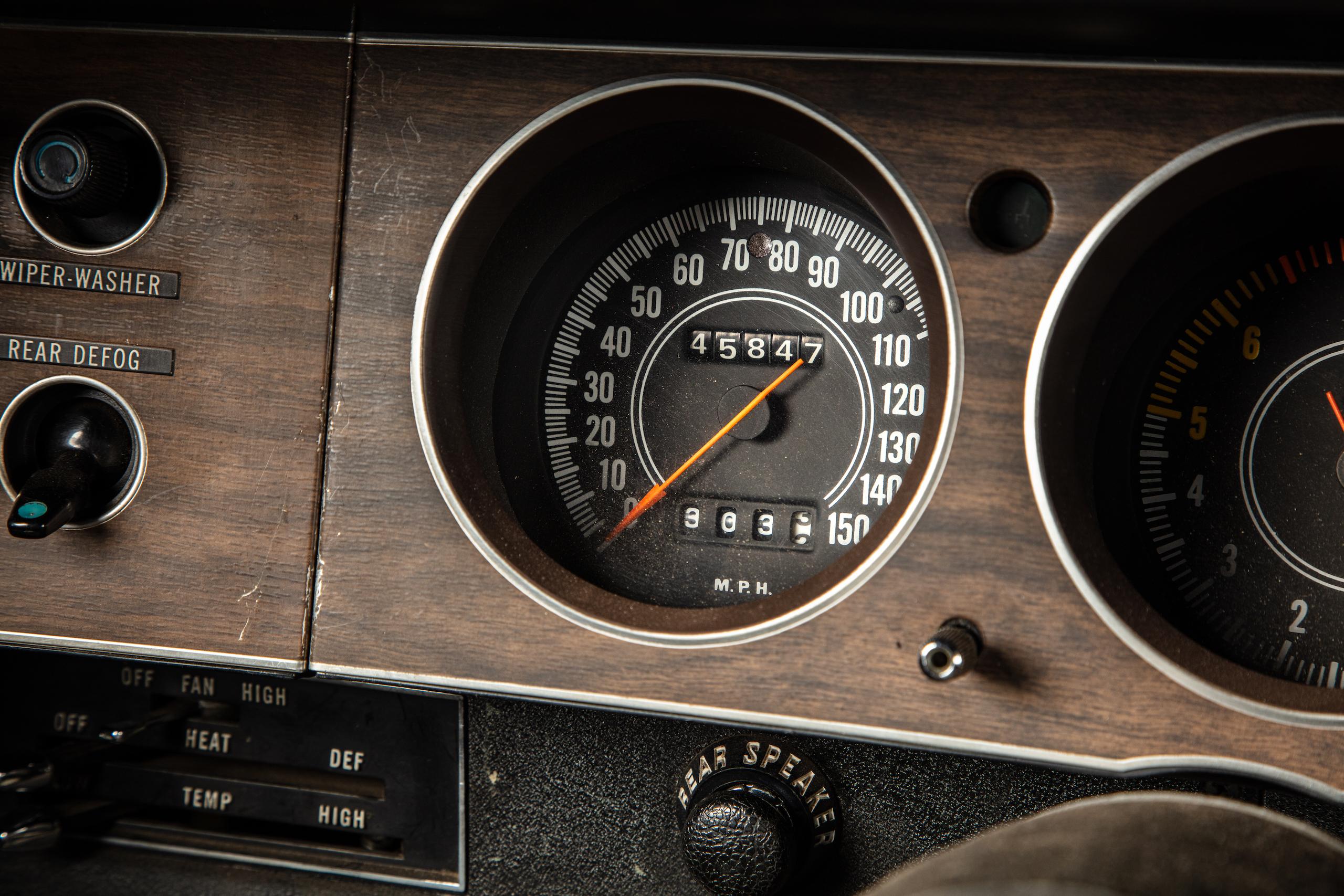 black ghost challenger interior gauges