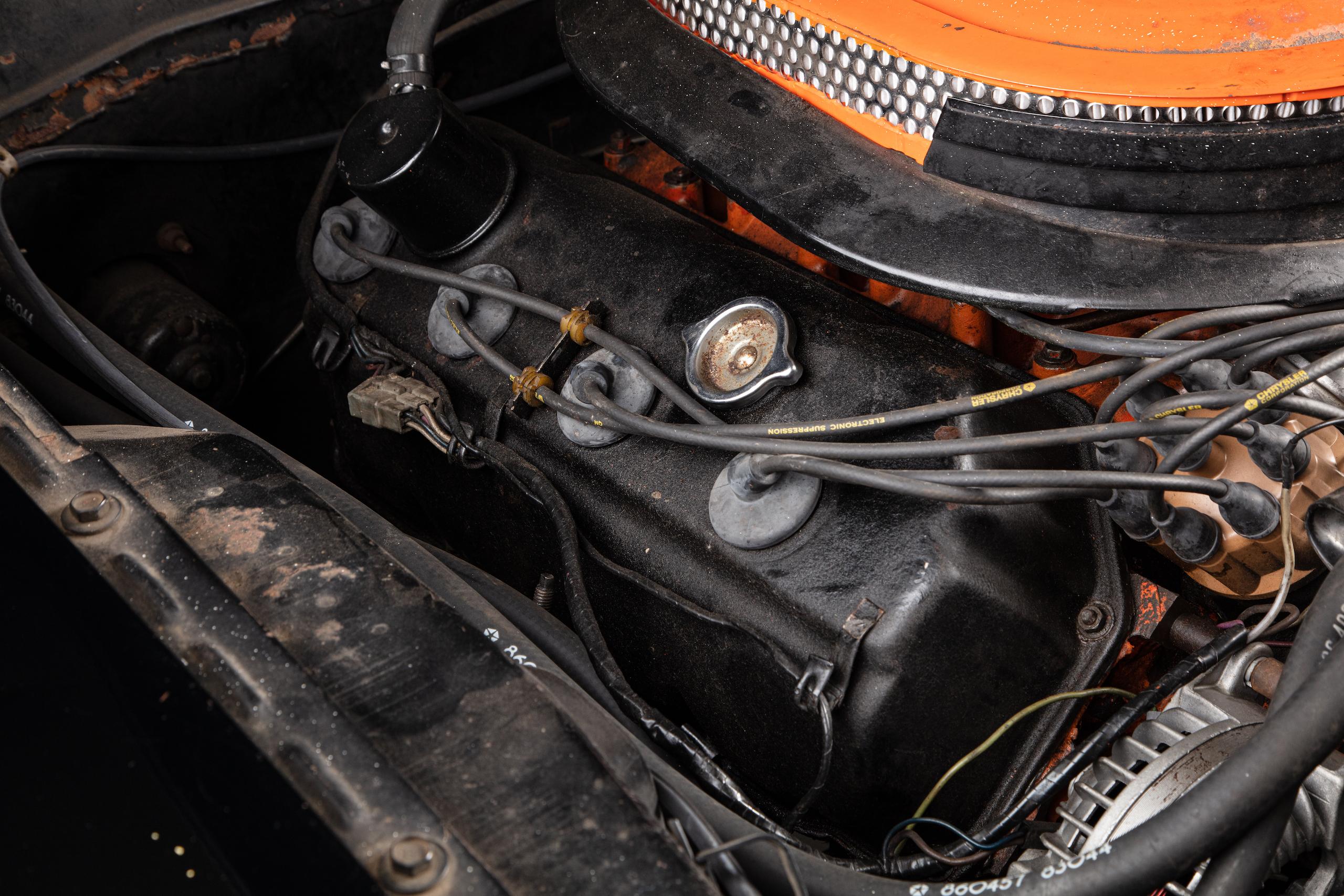 black ghost challenger engine valve cover