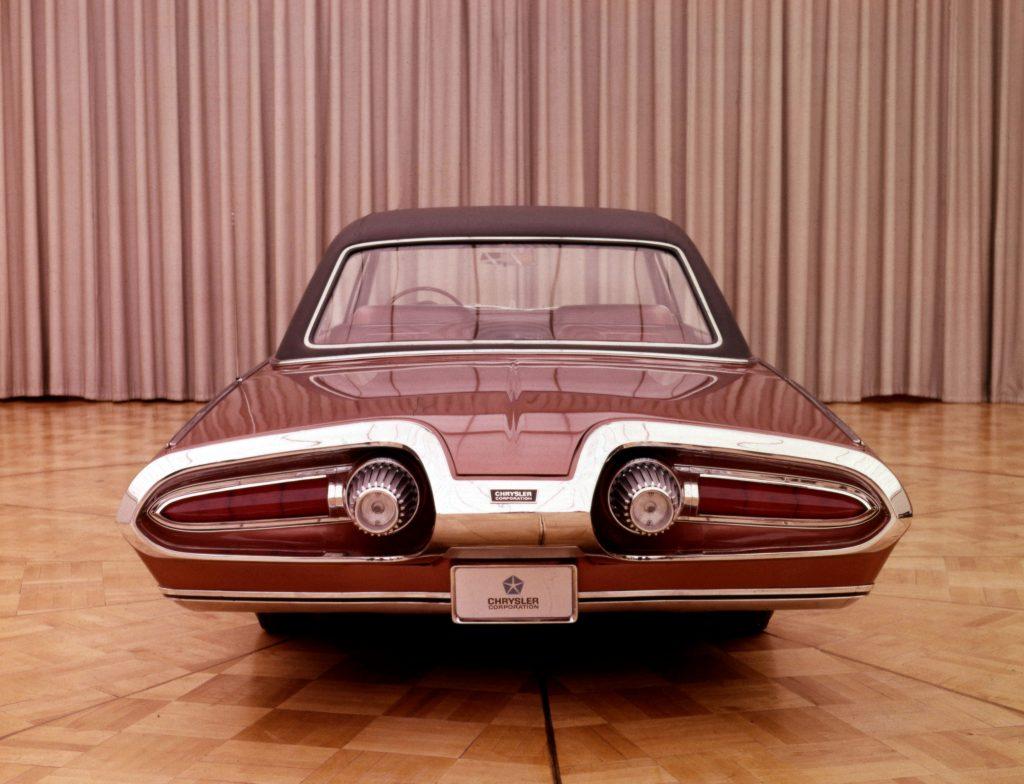 Chrysler Turbine history - 1963 Chrysler Turbine rear