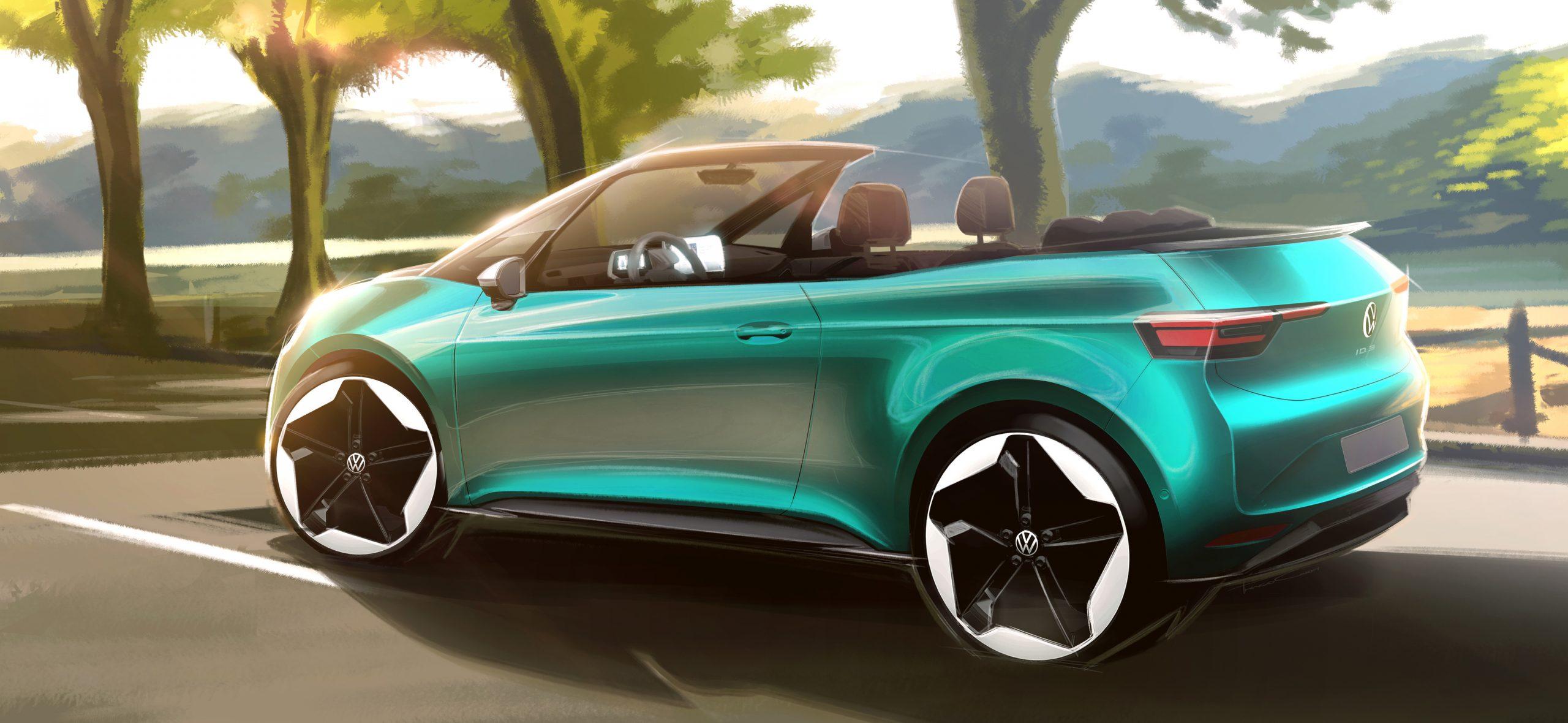 Volkswagen ID3 Convertible concept 2