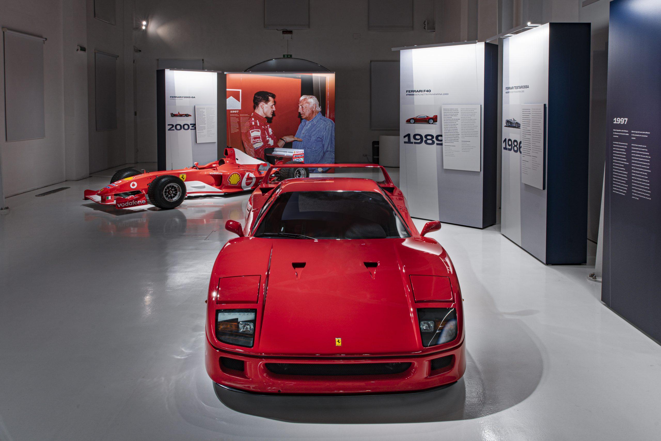 Agnelli's Ferraris 7