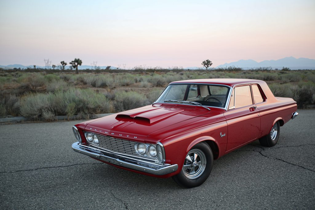 1963 Plymouth 426 Max Wedge lightweight front three-quarter