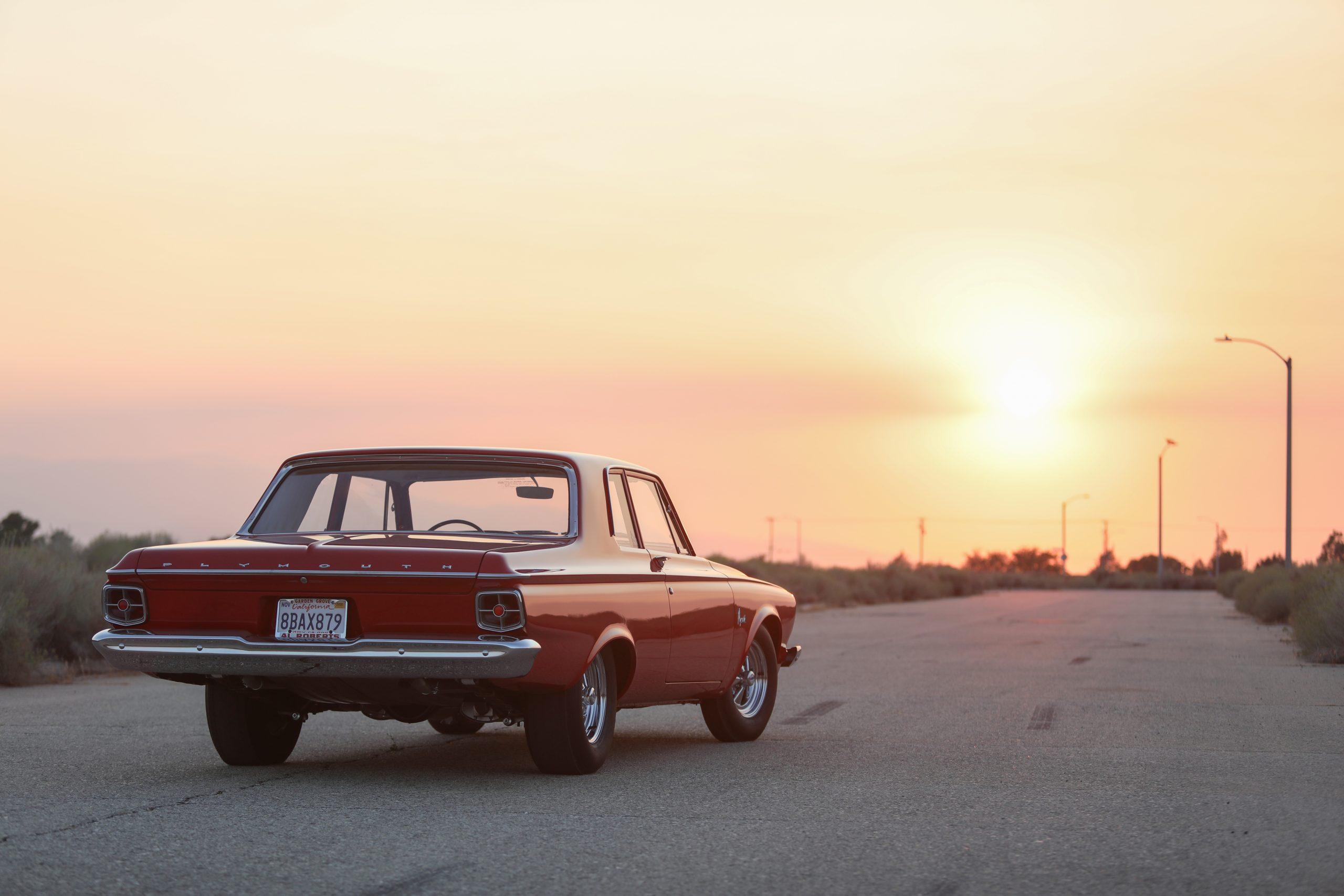 1963 Plymouth 426 Max Wedge lightweight rear three-quarter