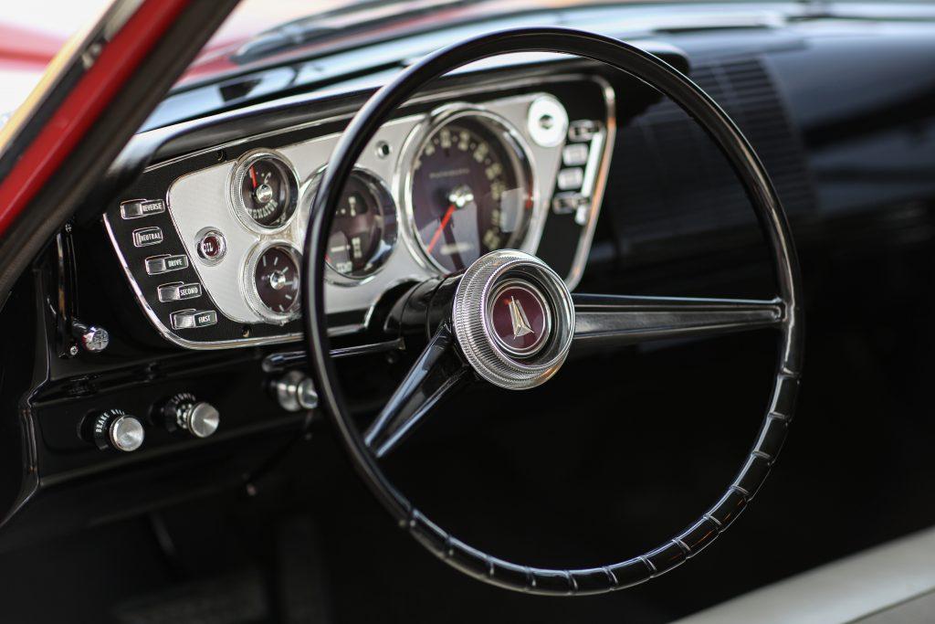 1963 Plymouth 426 Max Wedge lightweight steering wheel