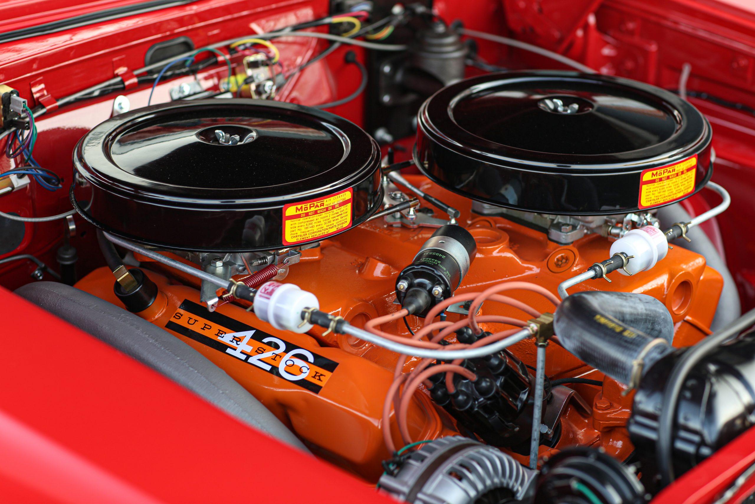 1963 Plymouth 426 Max Wedge lightweight crossram