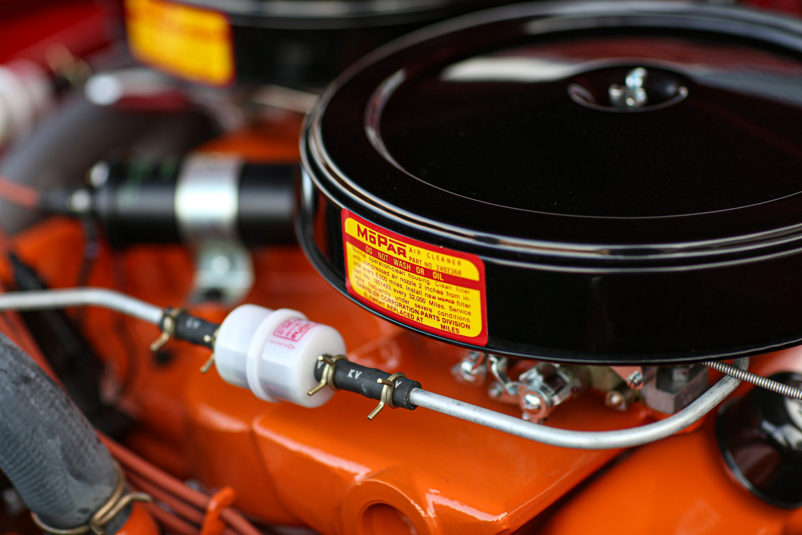 1963 Plymouth 426 Max Wedge lightweight air cleaner