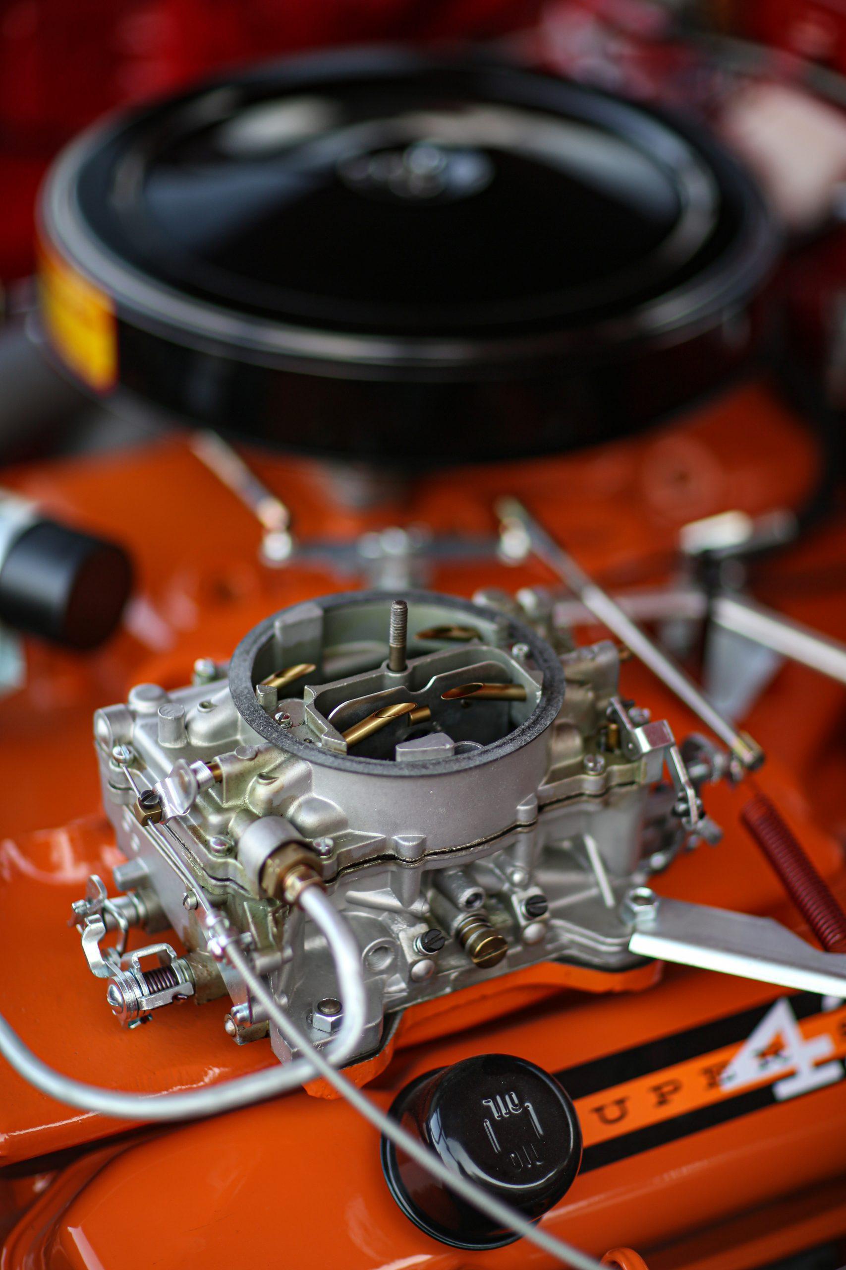 1963 Plymouth 426 Max Wedge lightweight carburetor