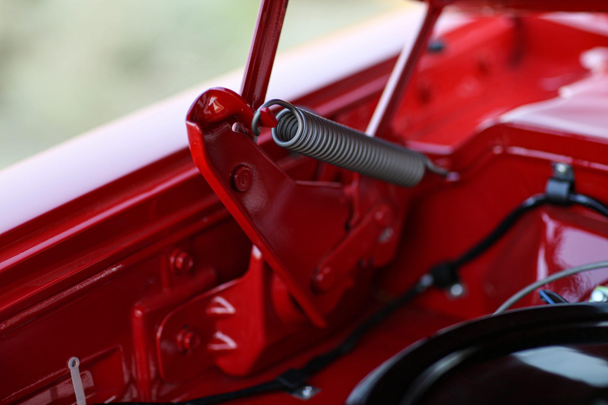 1963 Plymouth 426 Max Wedge lightweight hood hinge spring