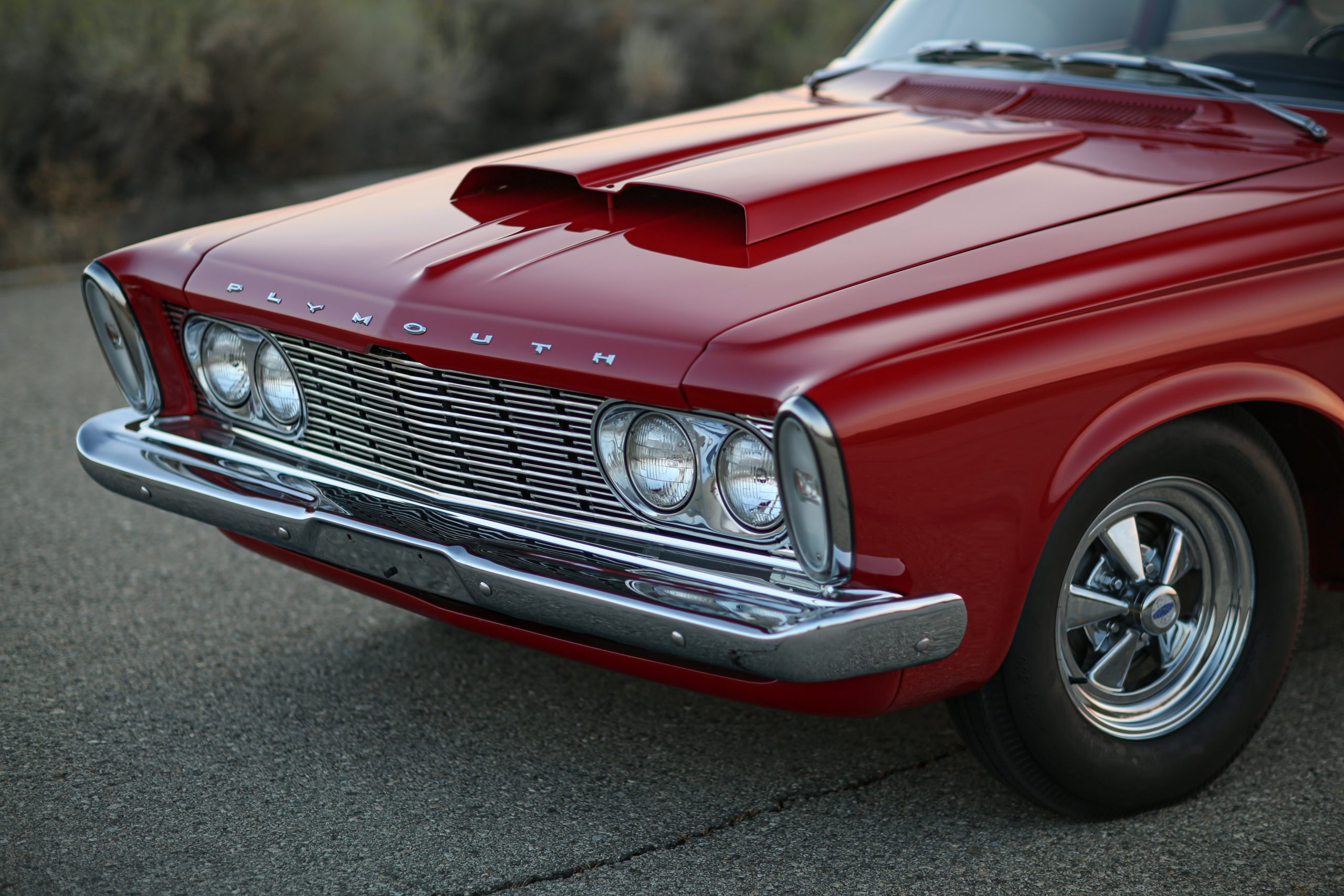 1963 Plymouth 426 Max Wedge lightweight front end