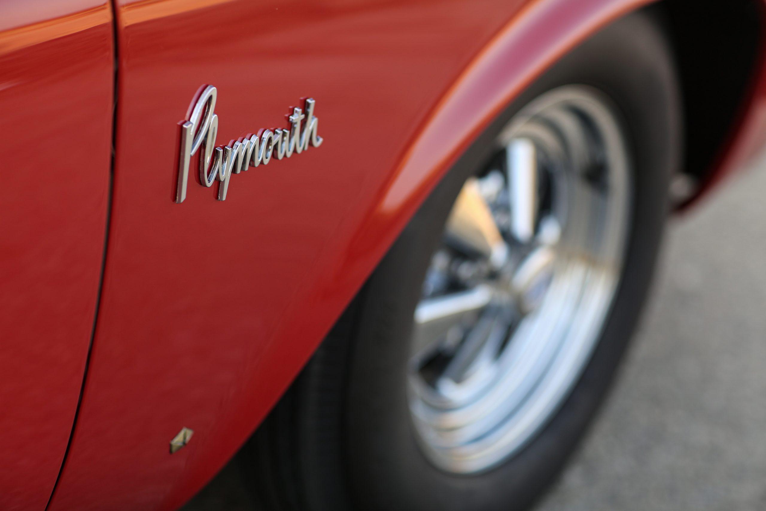 1963 Plymouth 426 Max Wedge lightweight emblem