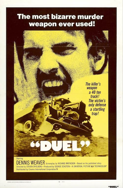 Duel Movie Poster Art