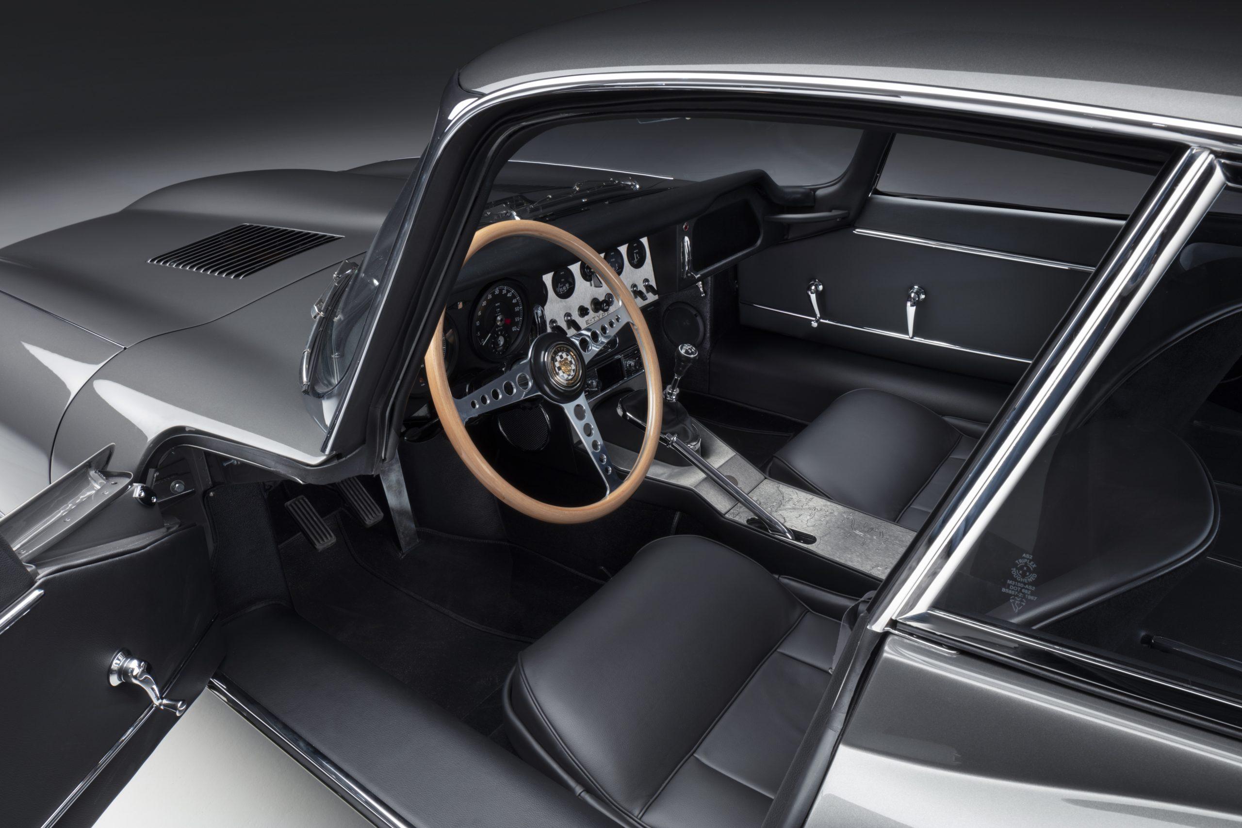 E-type 60 Edition Coupe_interior