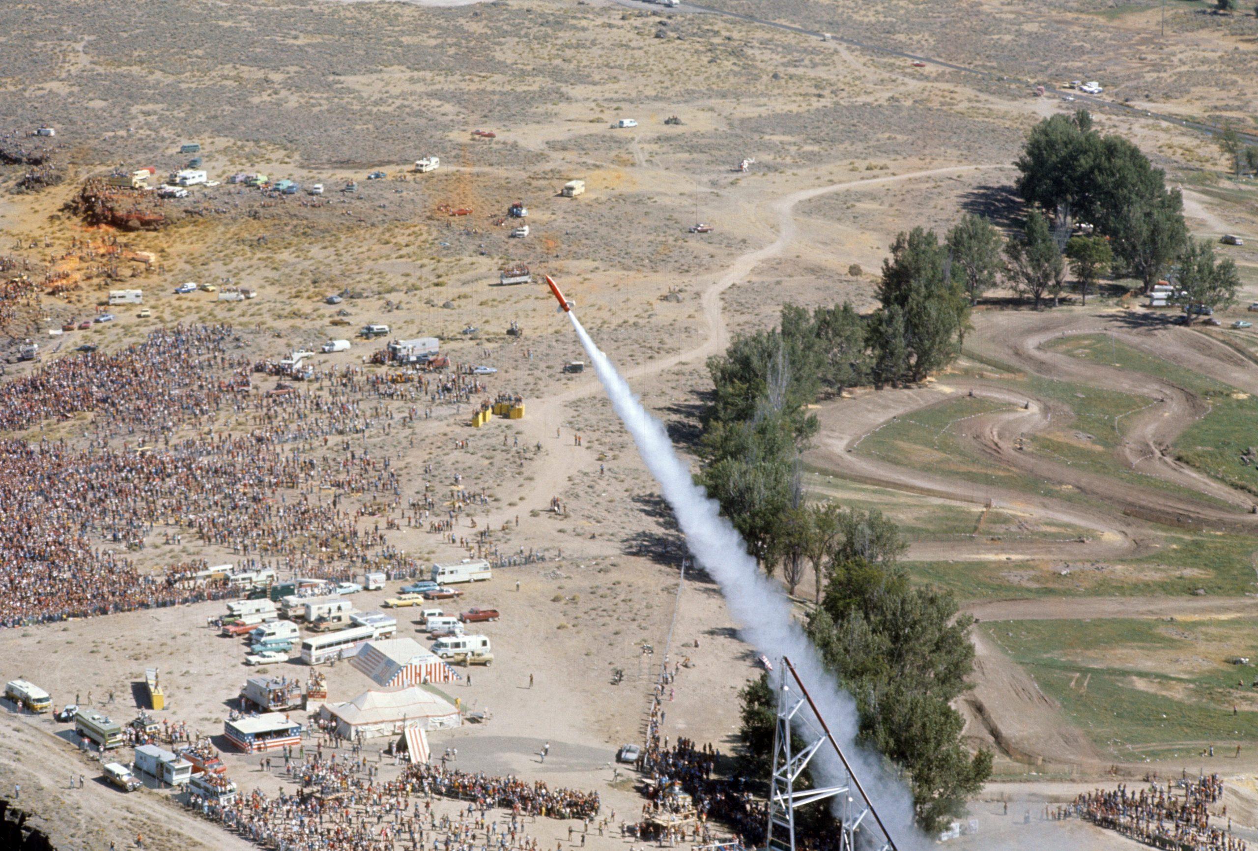 Evel Knievel Snake River Rocket