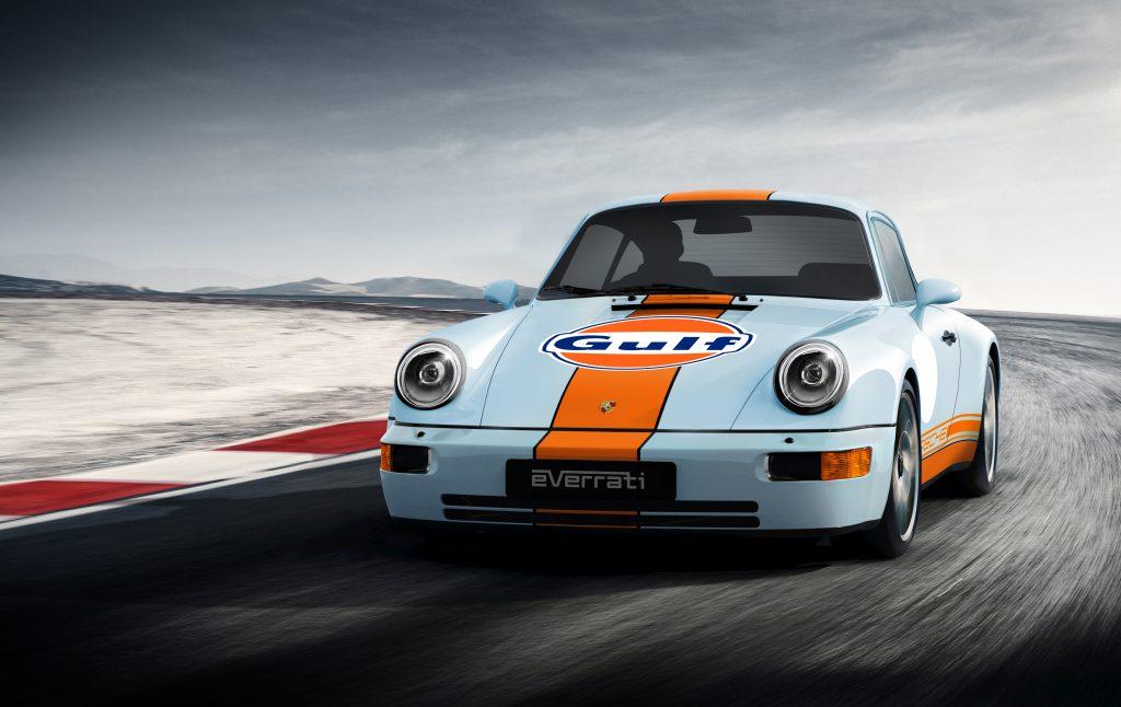 Everrati Gulf Porsche electric