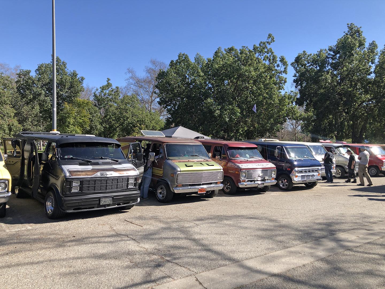 national boogie van day row