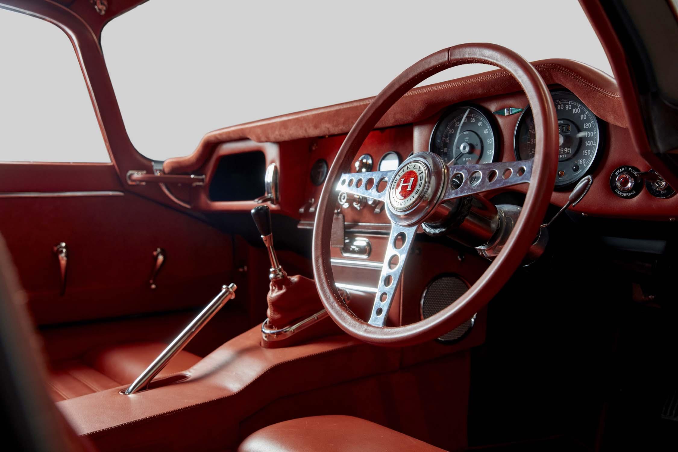 HELM E-type interior 2