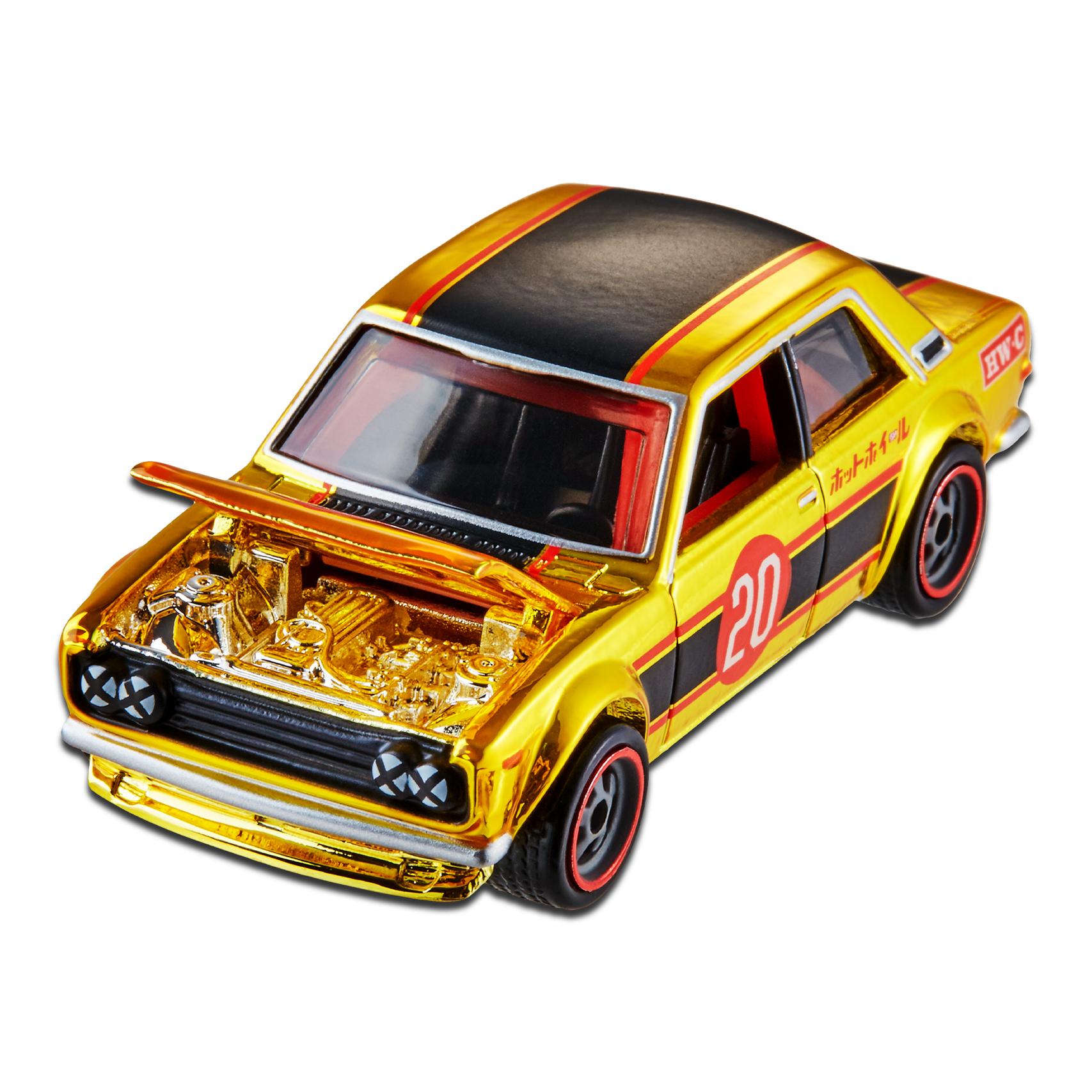 Hot Wheels cars gold